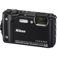 Цифровой фотоаппарат Nikon Coolpix W300 Black Holiday kit (VQA070K001)