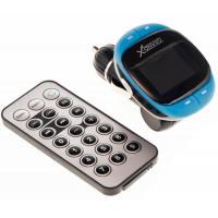 Автомобильный MP3-FM модулятор Grand-X CUFM25GRX blue SD/USB (CUFM25GRX blue)