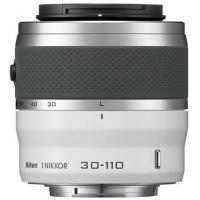 Объектив Nikon 1 NIKKOR 30-110mm f/3.8-5.6 white (JVA703DB)