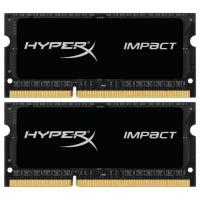 Модуль памяти для ноутбука SoDIMM DDR3 16GB (2x8GB) 1866 MHz HyperX Impact Black Kingston (HX318LS11IBK2/16)
