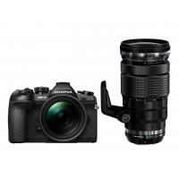 Цифровой фотоаппарат OLYMPUS E-M1 mark II Double Zoom PRO 12-40+40-150Kit B/B/B (V207061BE010)