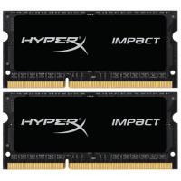Модуль памяти для ноутбука SODIMM DDR3 16GB (2x8GB) 1600 MHz Kingston (HX316LS9IBK2/16)