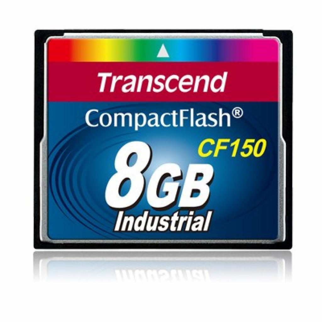 Карта памяти Transcend 8Gb Compact Flash 150x (TS8GCF150)