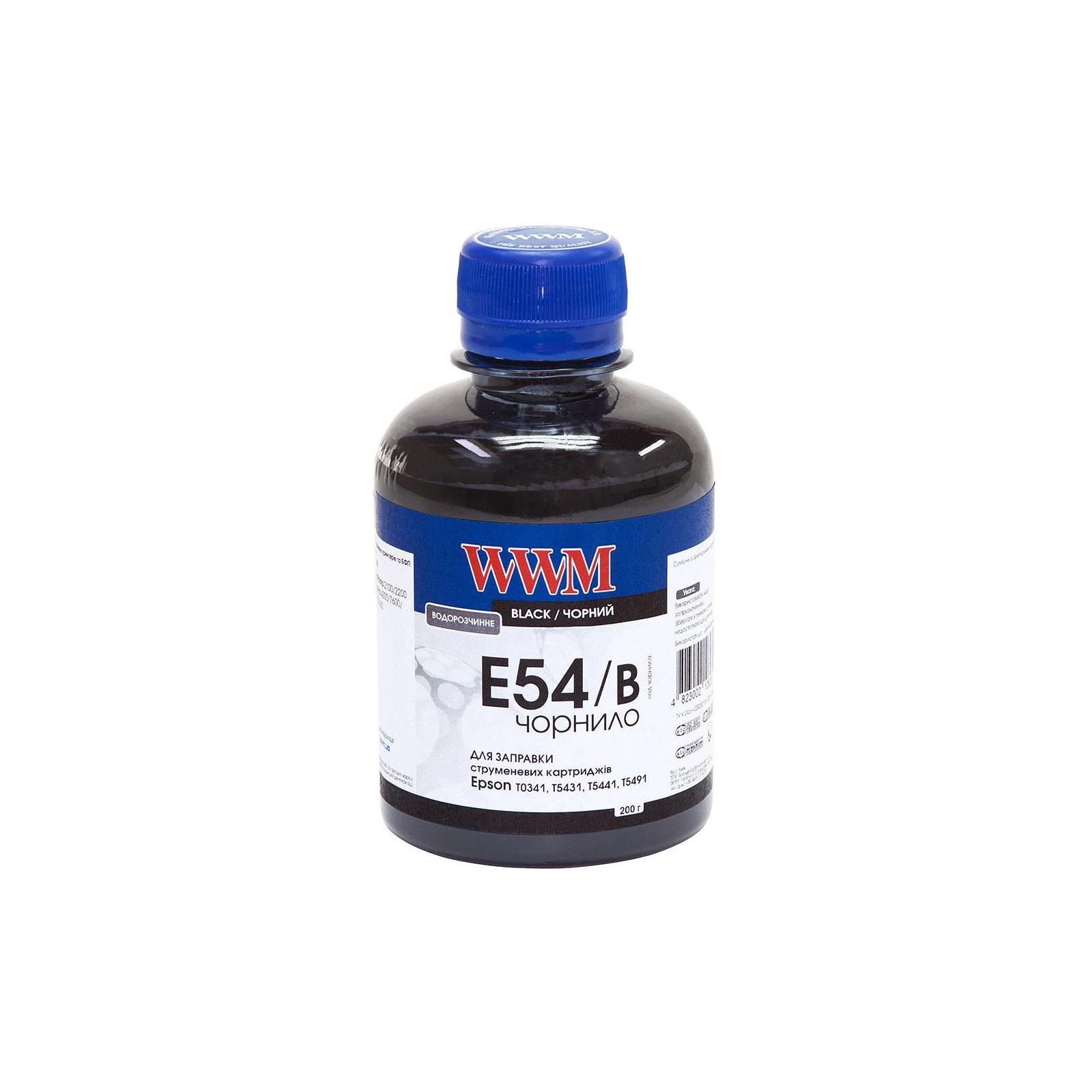 Чернила WWM EPSON StPhoto2100/2200/Pro4000/7600/9600/10600 Black (E54/B)