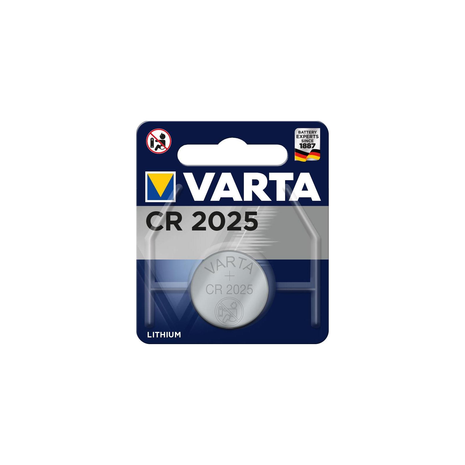 Батарейка Varta CR2025 Lithium (06025101401)