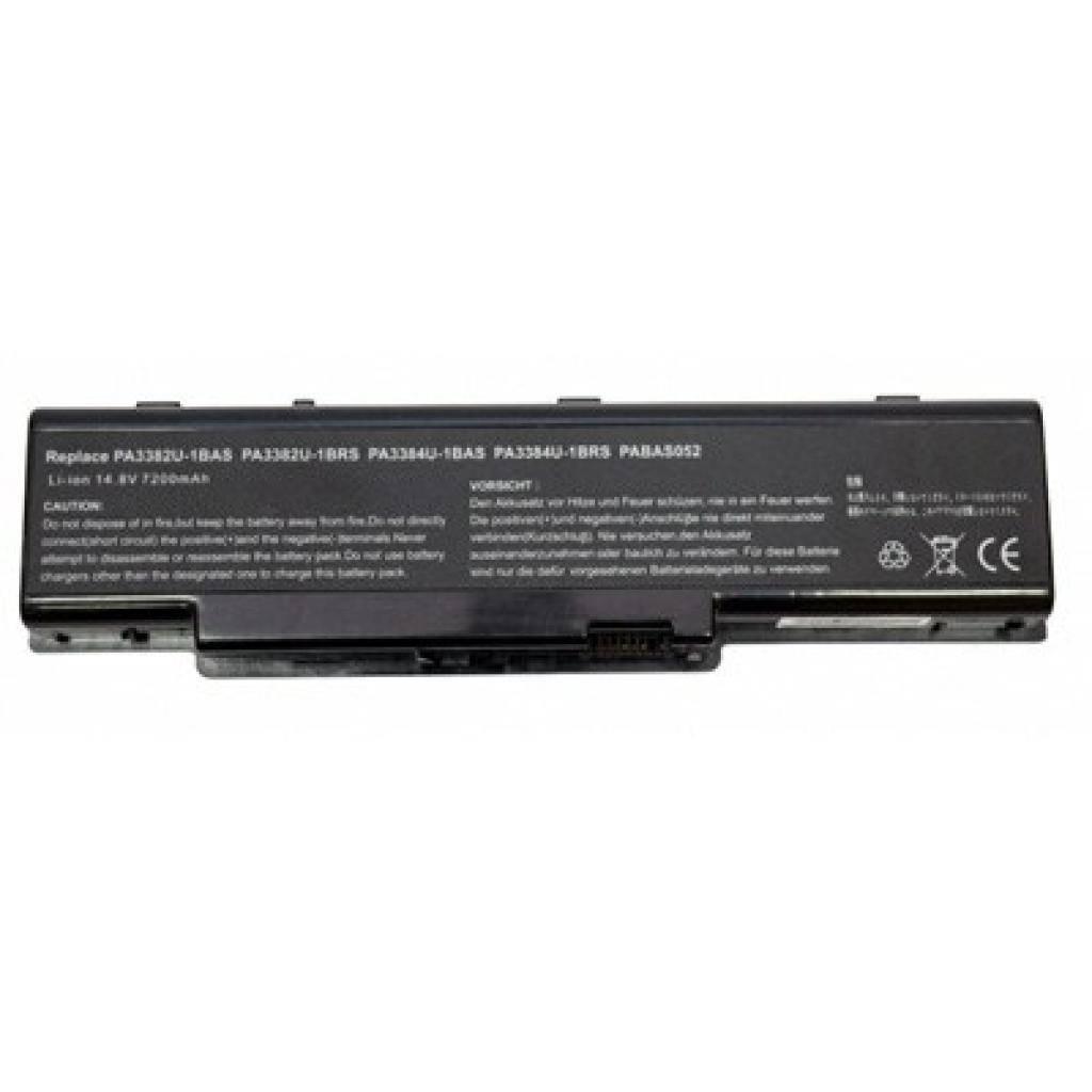 Аккумулятор для ноутбука Toshiba PA3382U-1BAS Dynabook AW BatteryExpert (PA3382U L 72)