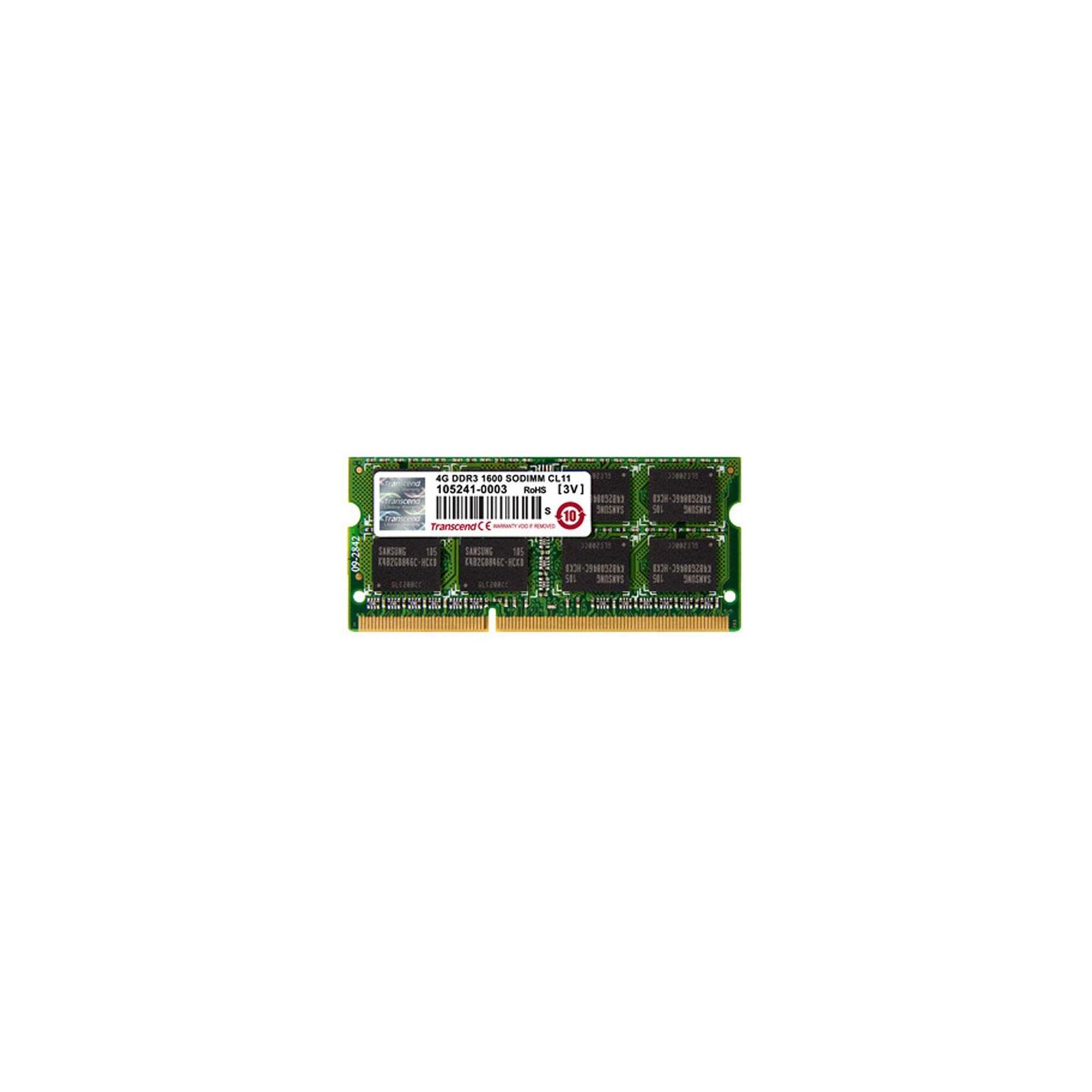 Модуль памяти для ноутбука SoDIMM DDR3 4GB 1333 MHz Transcend (JM1333KSN-4G)