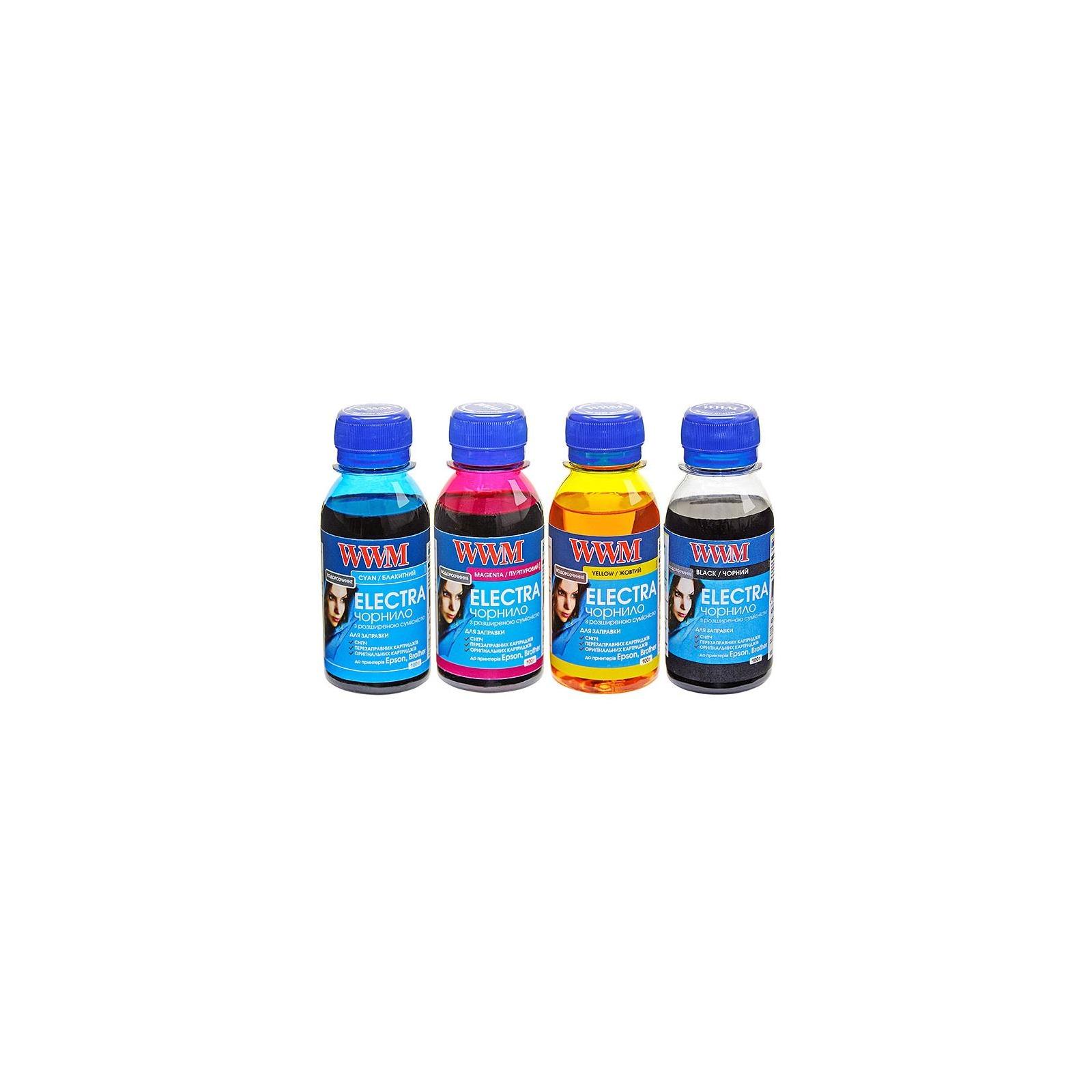 Чернила WWM EPSON ELECTRA В/C/M/Y SET (ELECTRA/SET.4-2)
