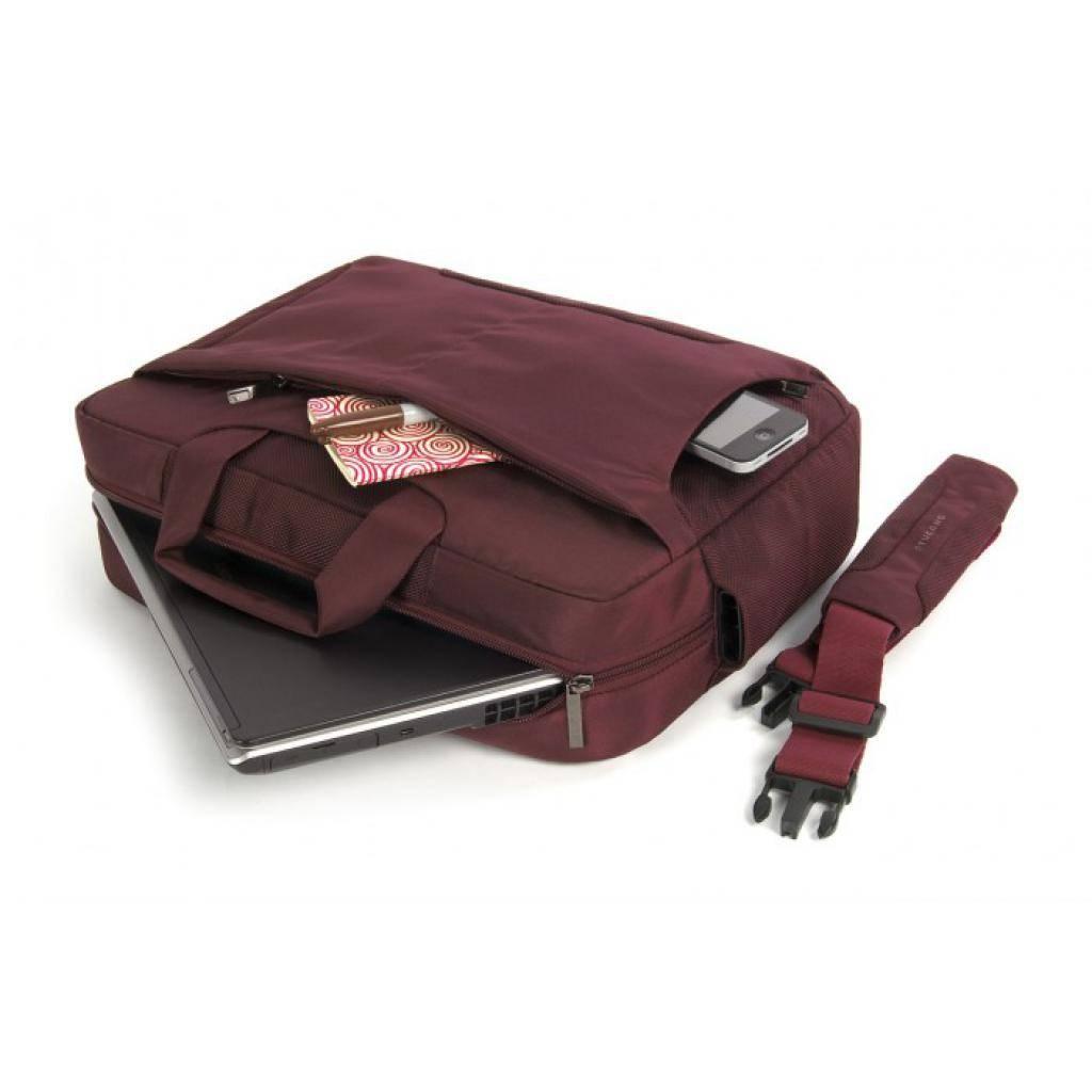 "Сумка для ноутбука Tucano 16"" Giorno/Burgundy (BGW1-BX) изображение 3"