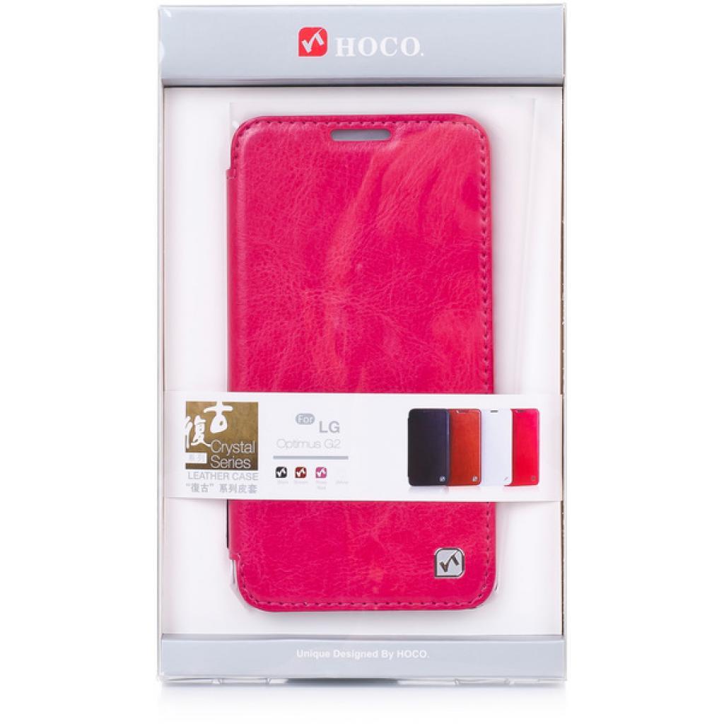 Чехол для моб. телефона HOCO для LG D802 Optimus G2 /Crystal (HL-L001 Rose Red)