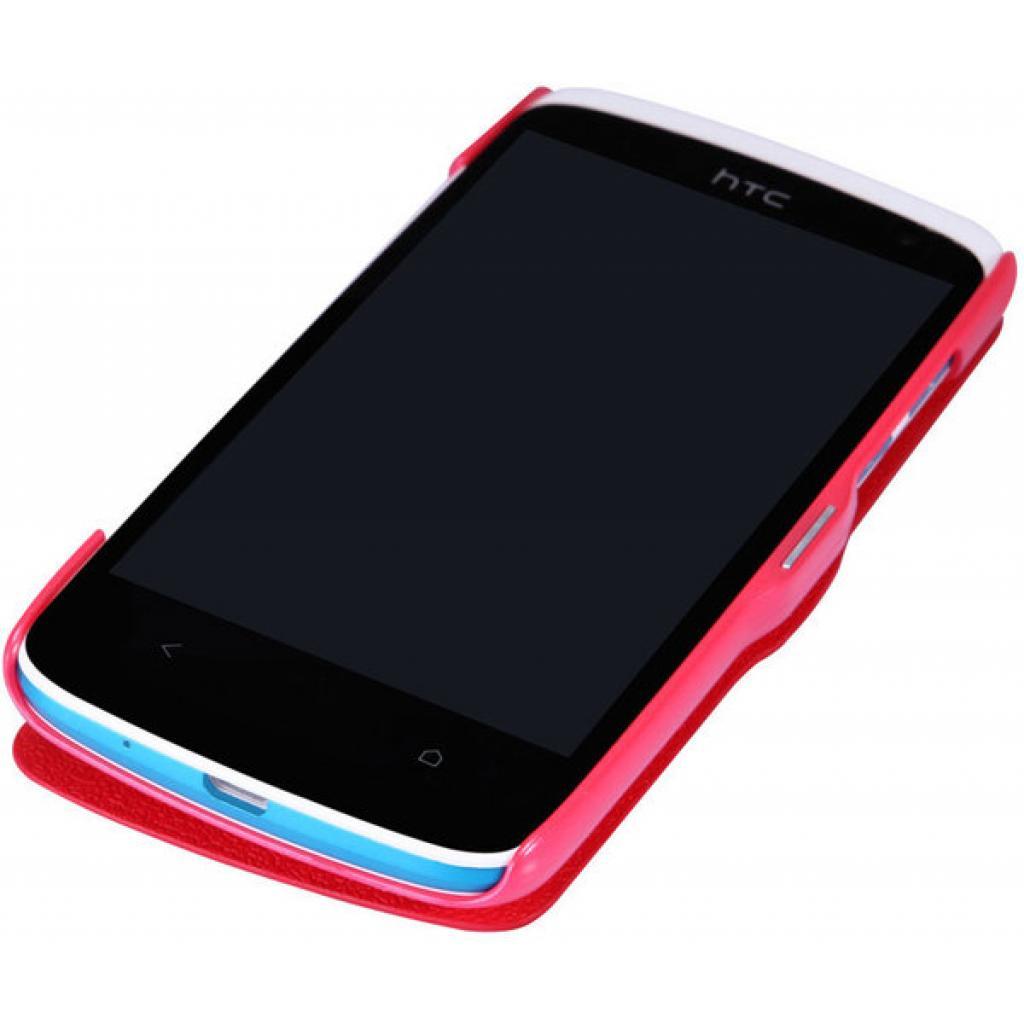 Чехол для моб. телефона NILLKIN для HTC Desire 500 /Fresh/ Leather/Red (6088695) изображение 3