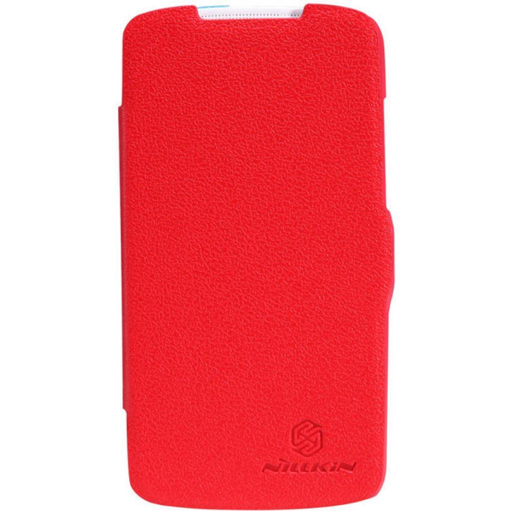 Чехол для моб. телефона NILLKIN для HTC Desire 500 /Fresh/ Leather/Red (6088695)