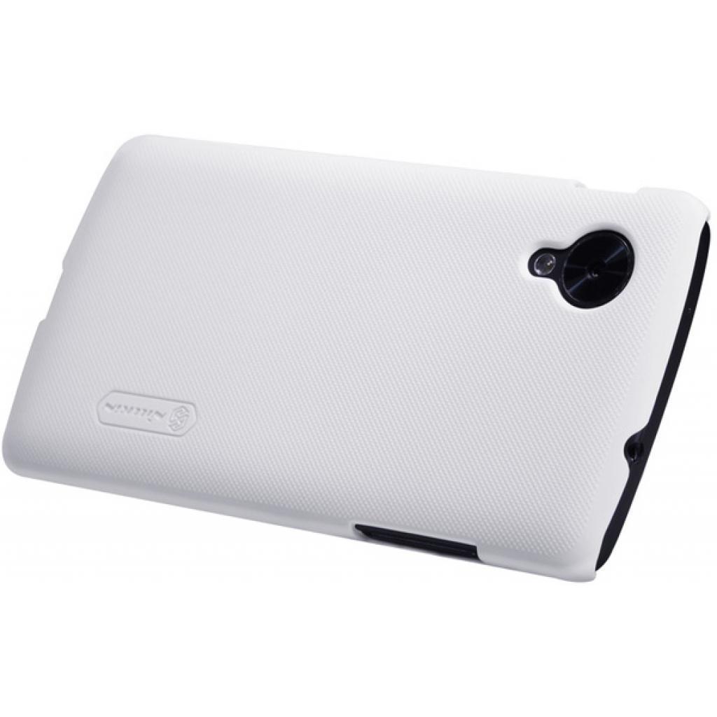 Чехол для моб. телефона NILLKIN для LG D821 Nexus 5 /Super Frosted Shield/White (6129129) изображение 3