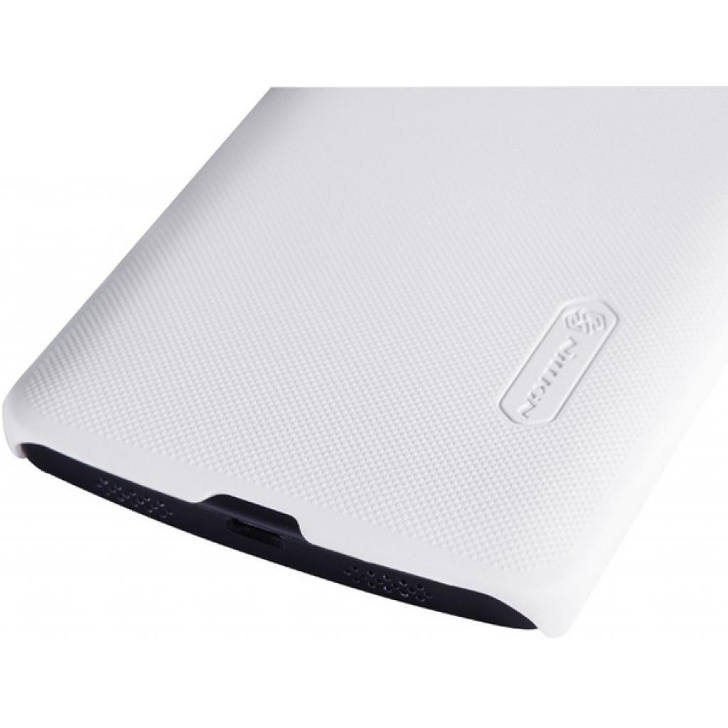 Чехол для моб. телефона NILLKIN для LG D821 Nexus 5 /Super Frosted Shield/White (6129129) изображение 4