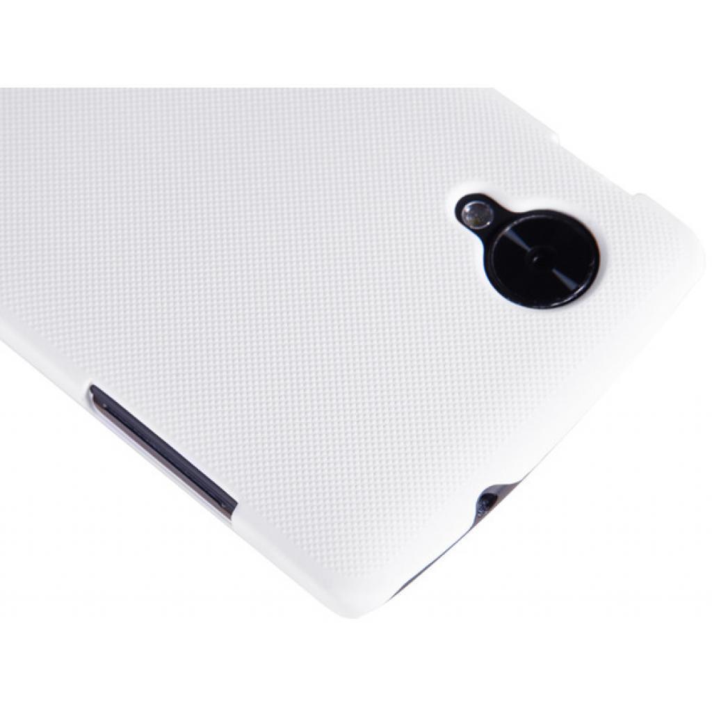 Чехол для моб. телефона NILLKIN для LG D821 Nexus 5 /Super Frosted Shield/White (6129129) изображение 5