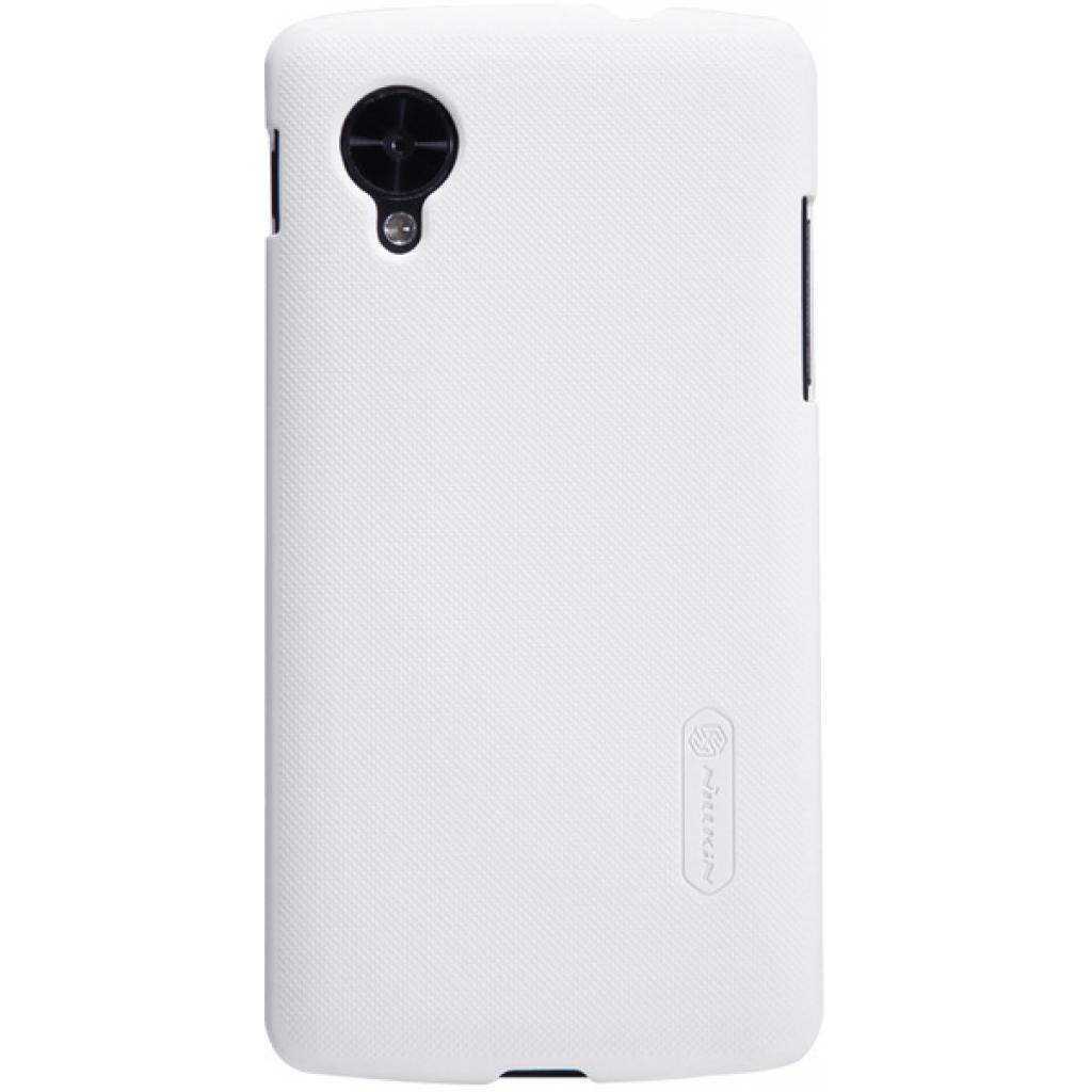 Чехол для моб. телефона NILLKIN для LG D821 Nexus 5 /Super Frosted Shield/White (6129129)
