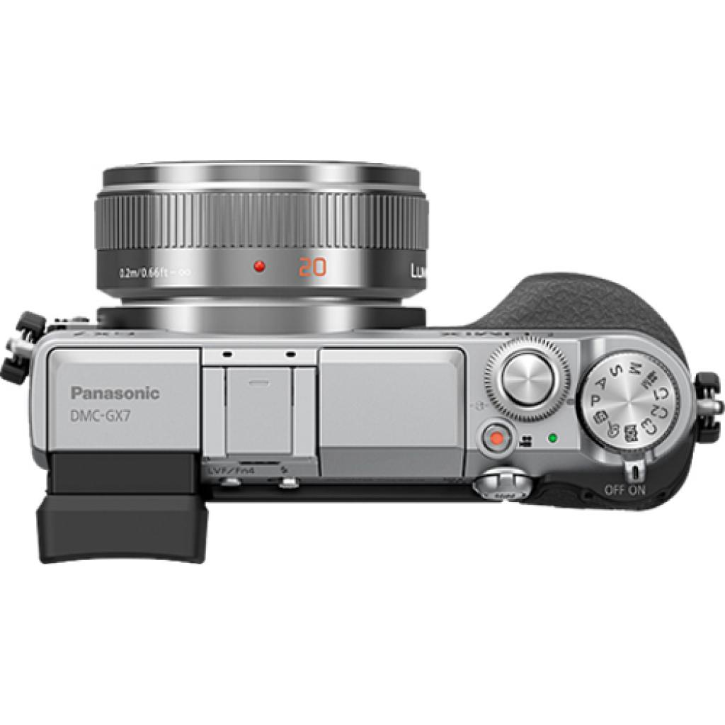 Цифровой фотоаппарат PANASONIC DMC-GX7 Kit 14-42mm Silver (DMC-GX7KEE-S) изображение 2