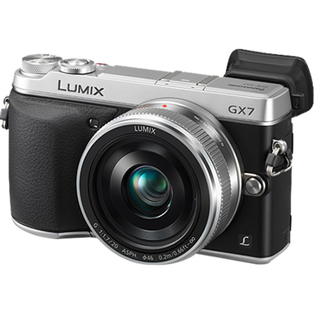 Цифровой фотоаппарат PANASONIC DMC-GX7 Kit 14-42mm Silver (DMC-GX7KEE-S) изображение 9