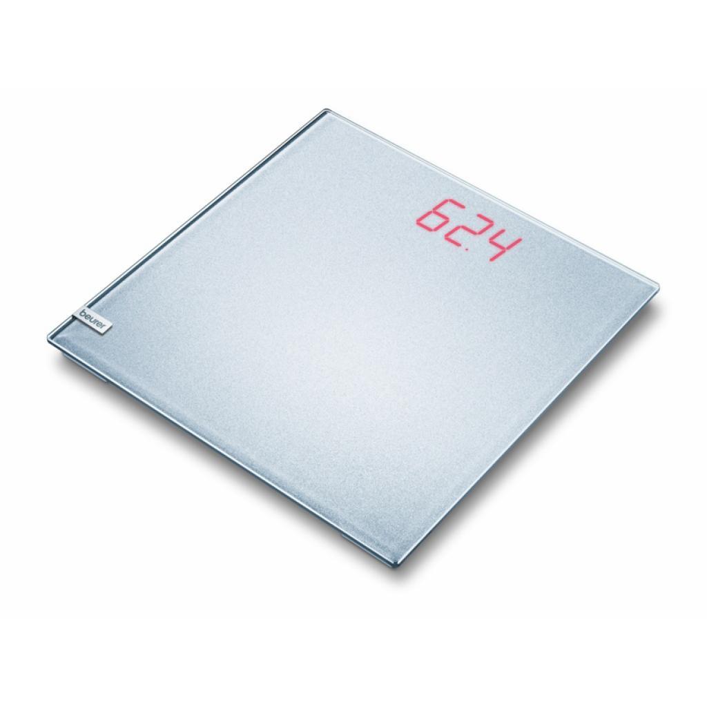 Весы напольные BEURER GS 40 Magic Plain Silver (4211125/744.21/2)