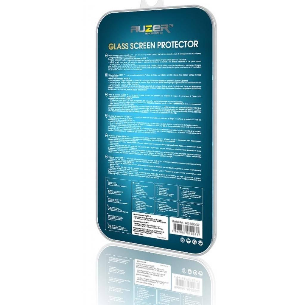 Стекло защитное AUZER для HTC One M8 (AG-SHOM8) изображение 2