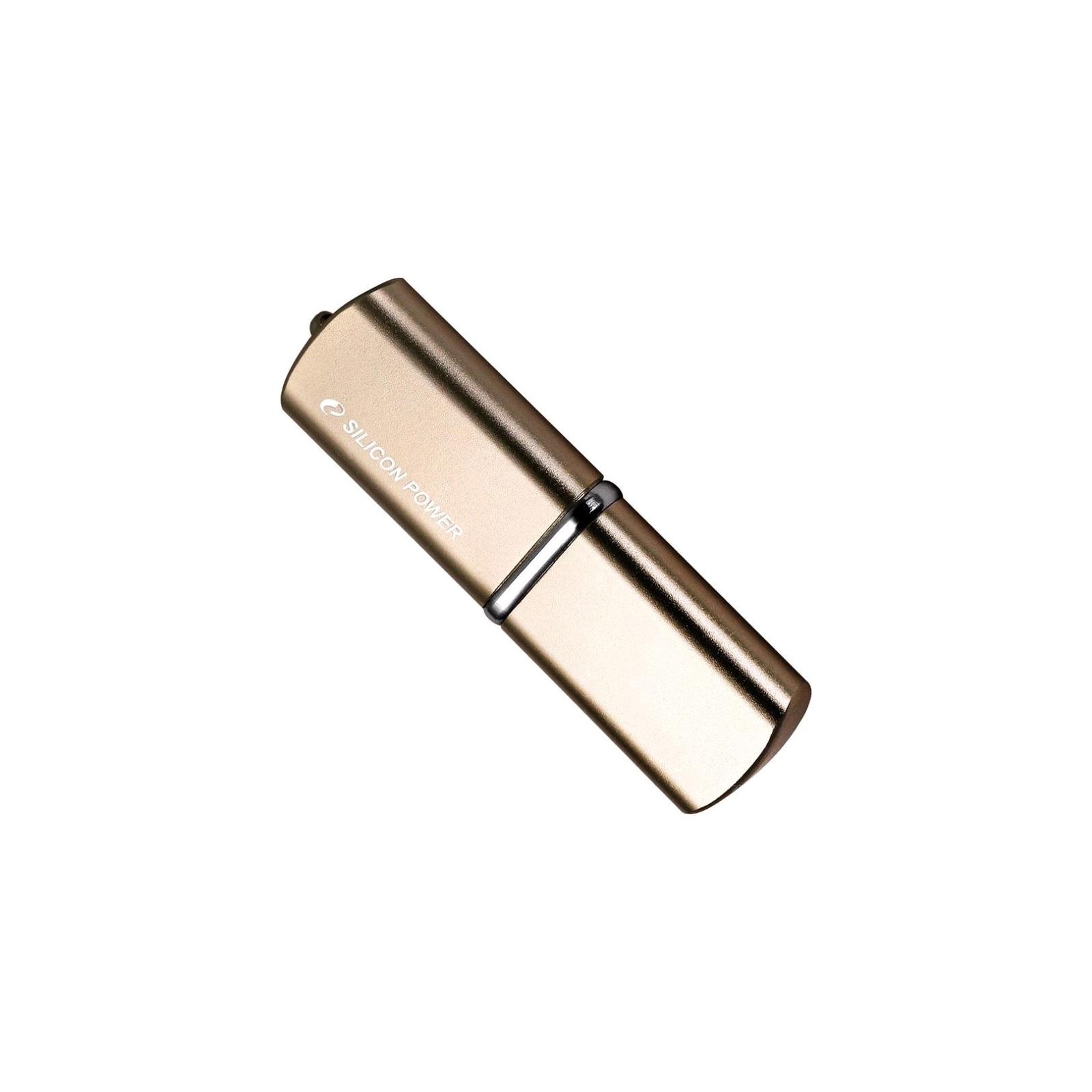 USB флеш накопитель Silicon Power 64GB LuxMini 720 USB 2.0 (SP064GBUF2720V1D) изображение 2