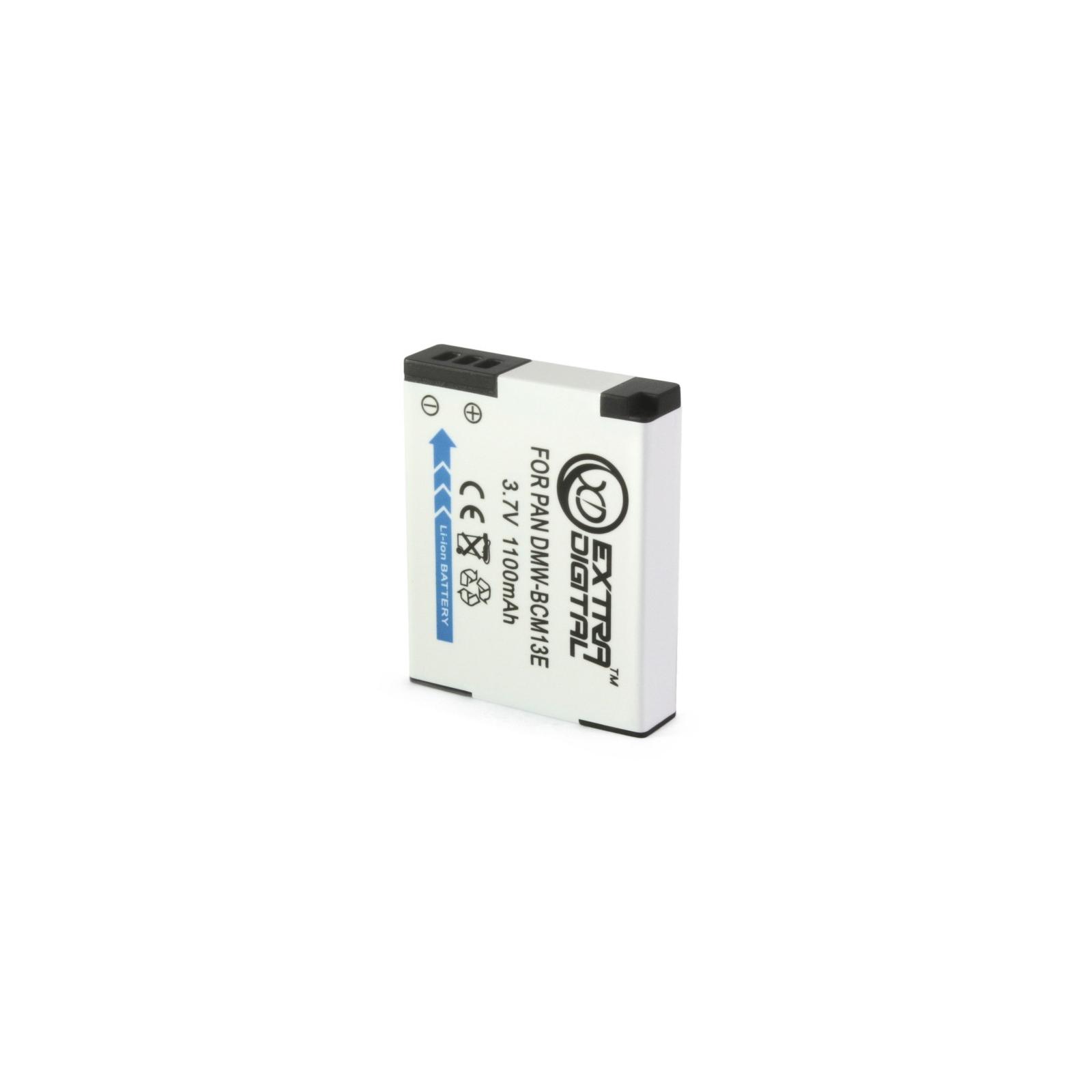 Аккумулятор к фото/видео EXTRADIGITAL Panasonic DMW-BCM13E (BDP1291) изображение 2