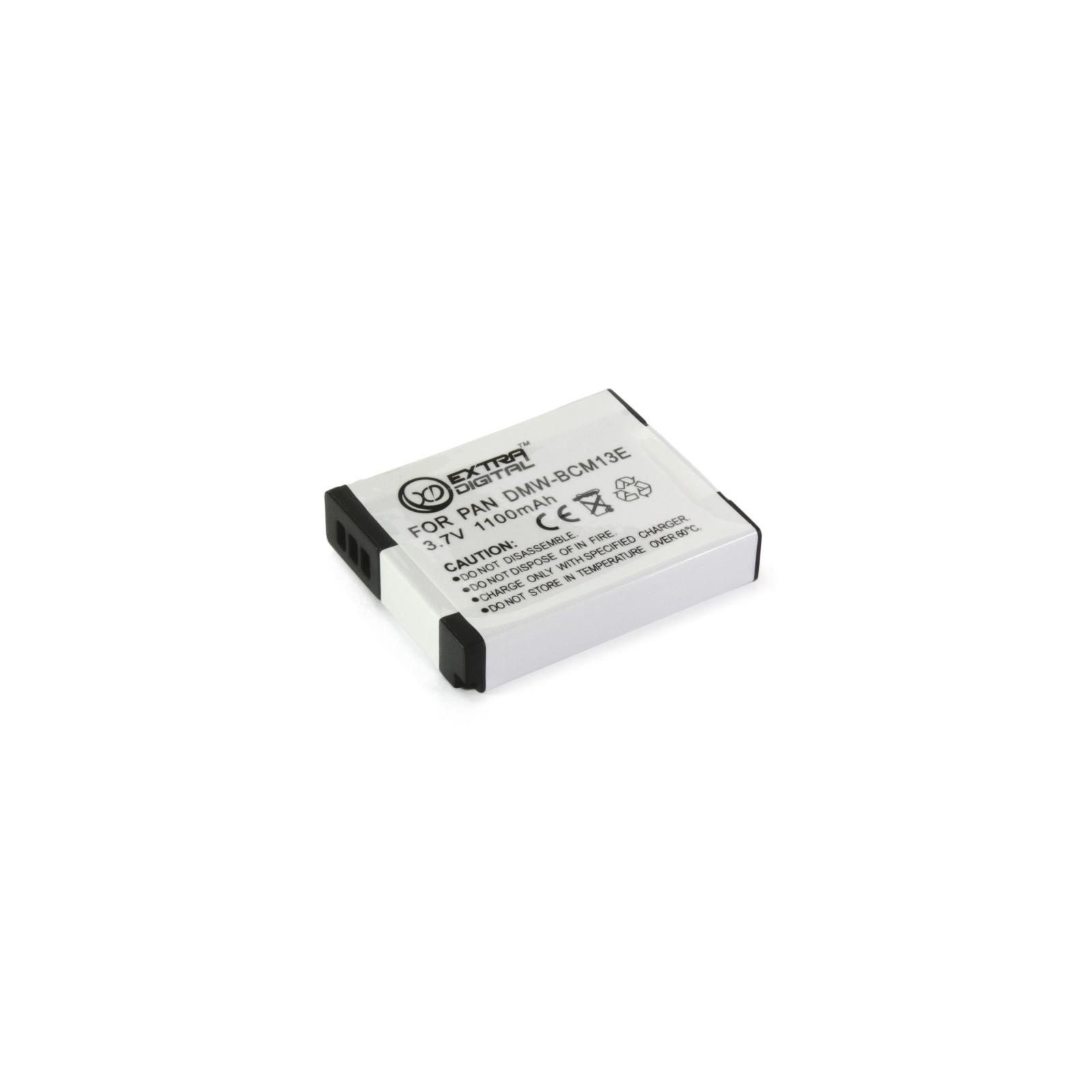 Аккумулятор к фото/видео EXTRADIGITAL Panasonic DMW-BCM13E (BDP1291) изображение 5