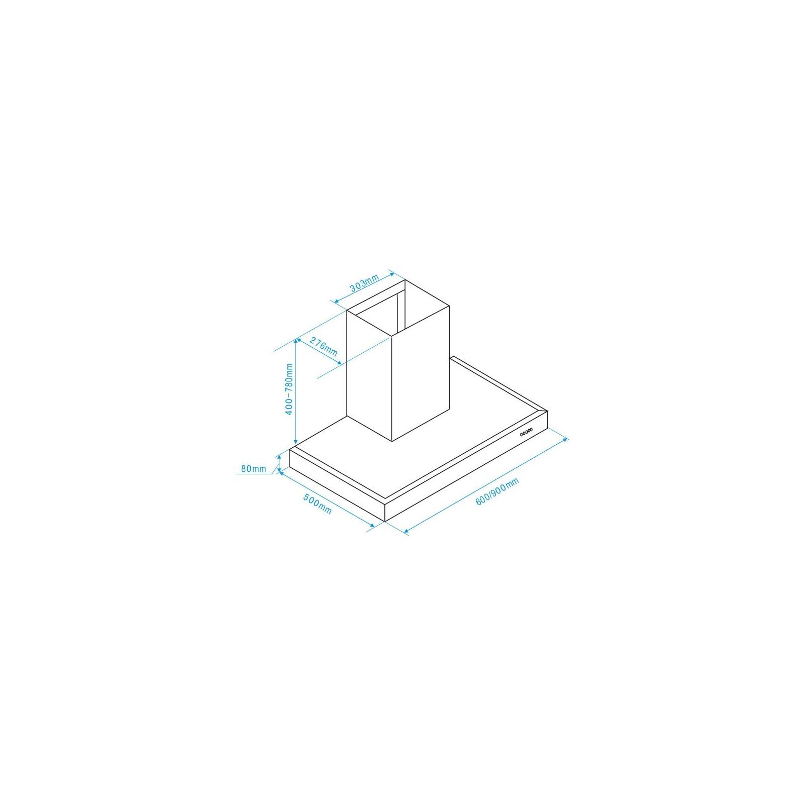 Вытяжка кухонная Interline ZENITH X A/90 EB/ E изображение 2