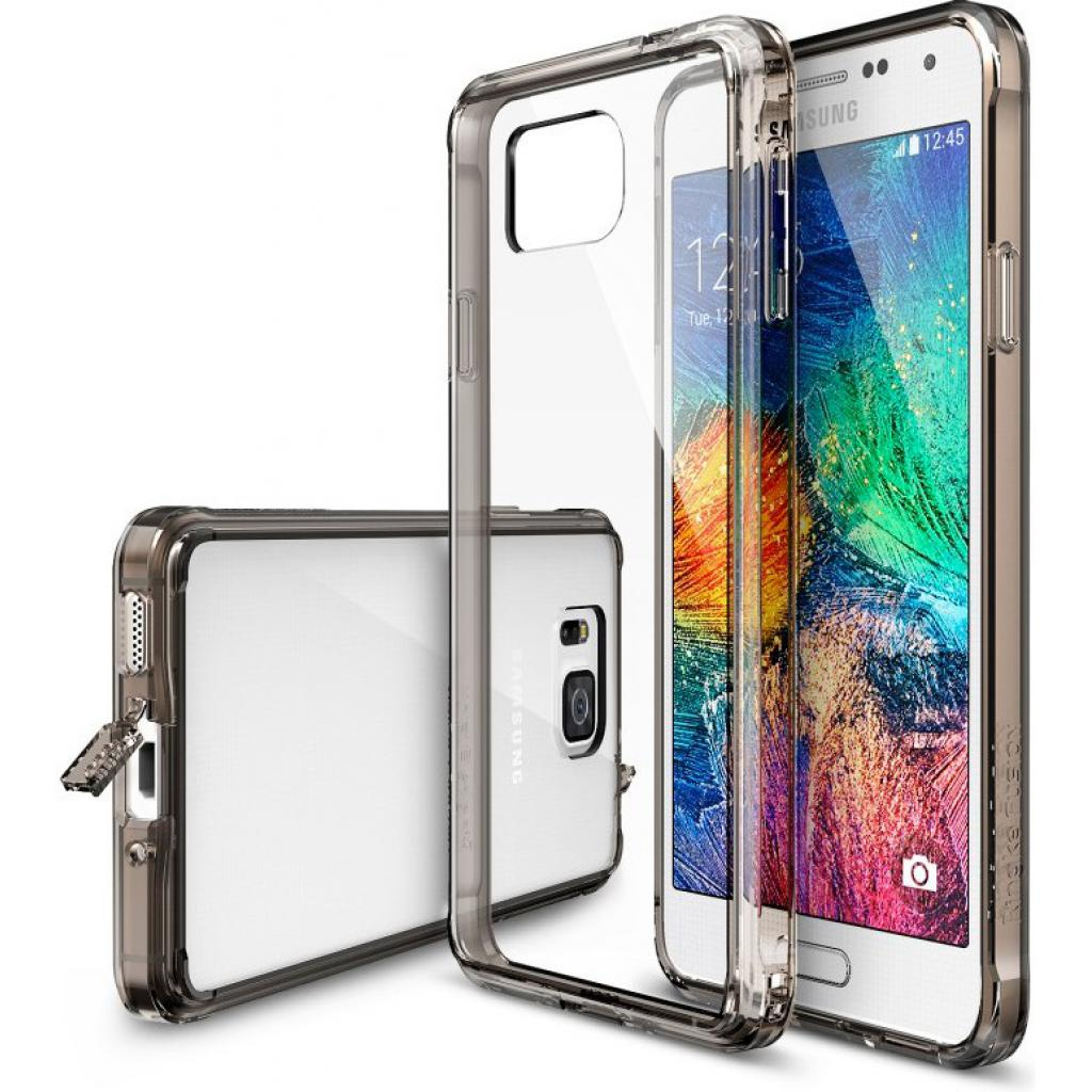 Чехол для моб. телефона Ringke Fusion для Samsung Galaxy Alpha (Smoke Black) (550654)