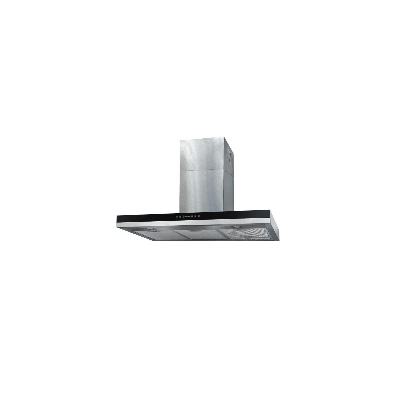 Вытяжка кухонная Ventolux ITALIA 90 BK/X (1200)