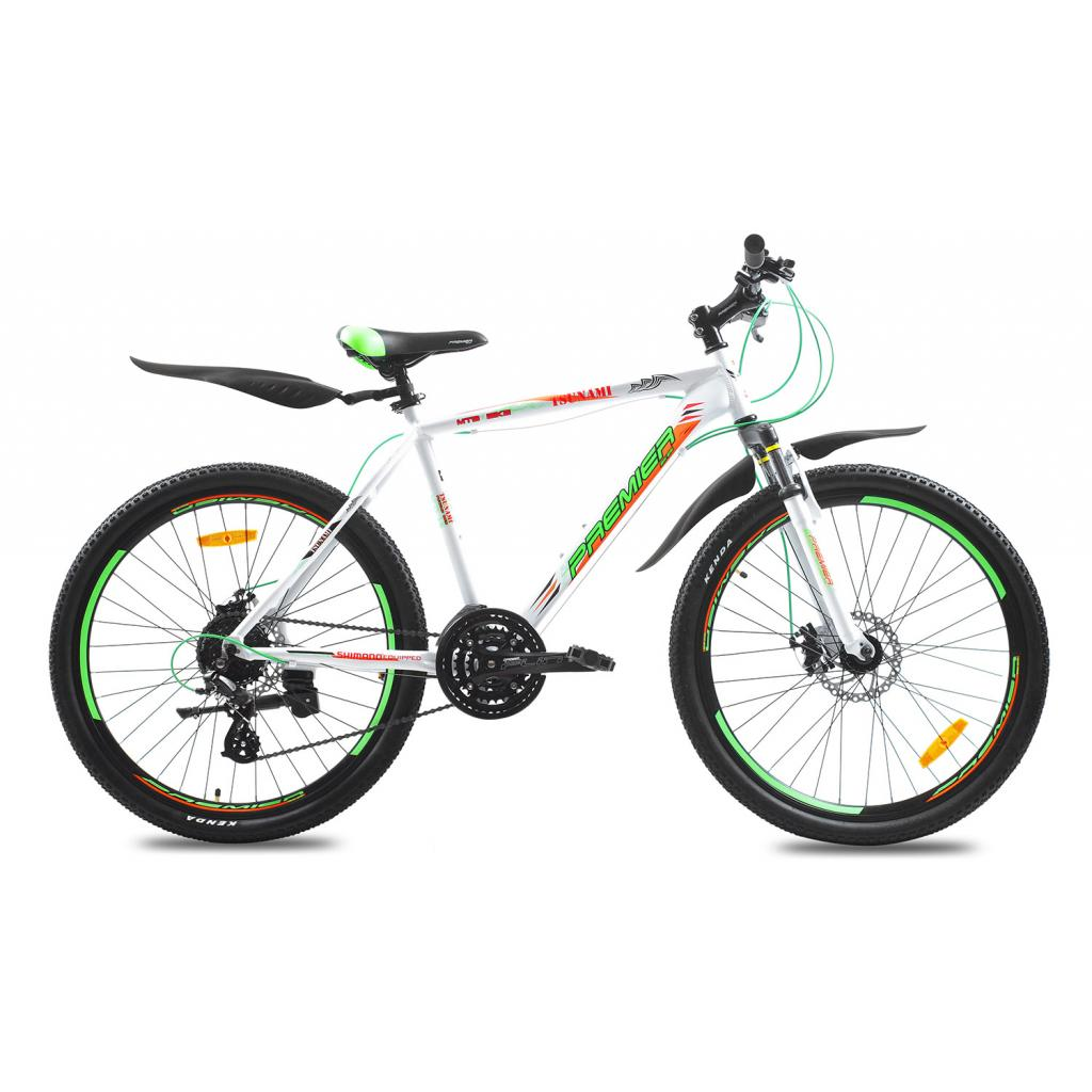 "Велосипед Premier Tsunami 26 Disc 19"" matt white (SP0001501)"