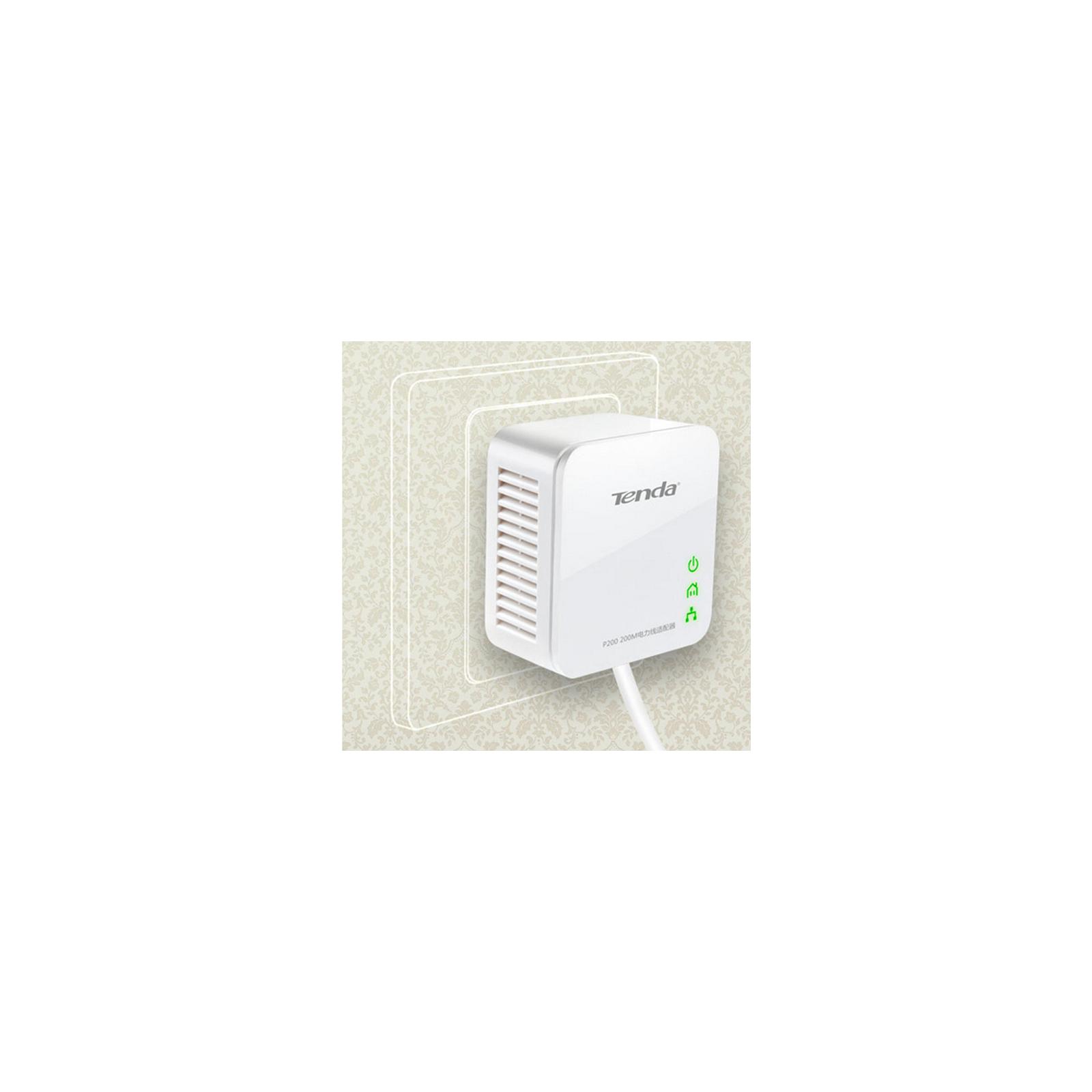Адаптер Powerline TENDA P200-KIT изображение 5