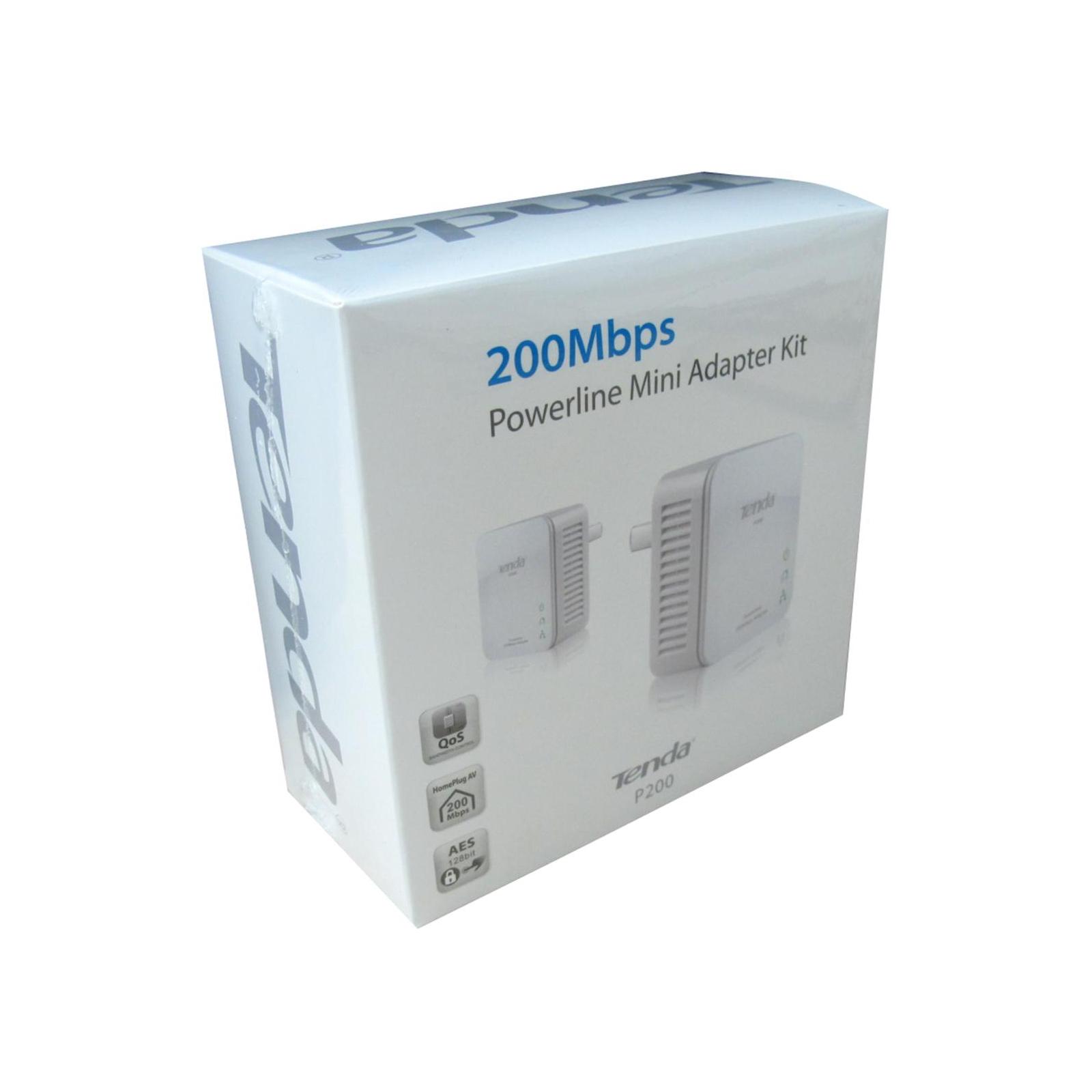 Адаптер Powerline TENDA P200-KIT изображение 6