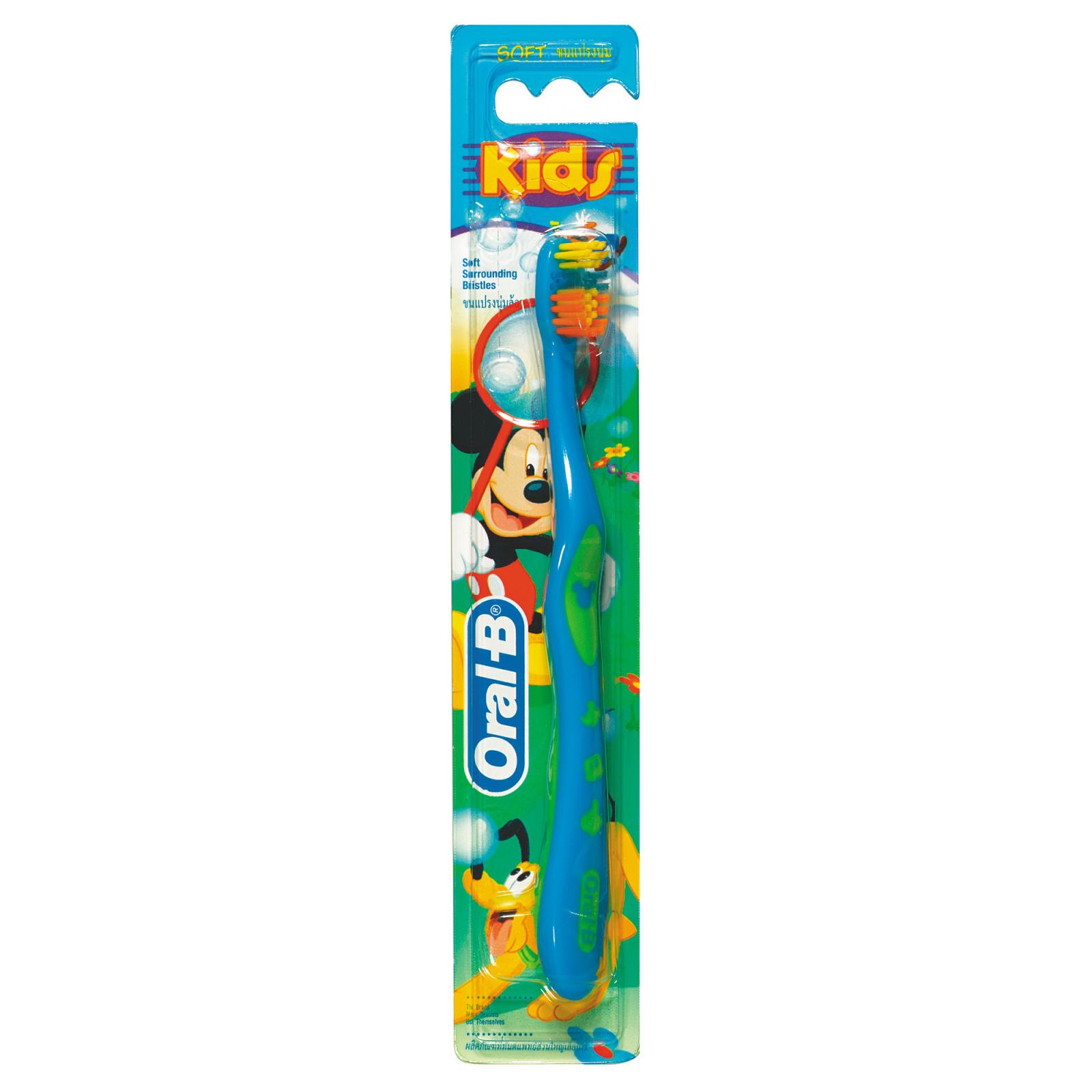 Детская зубная щетка Oral-B Kids Детская (5-7 лет) мягкая 1 шт (3014260286279)