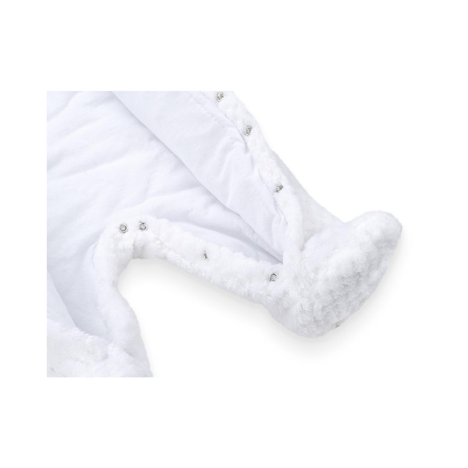 Человечек ТМ МиЯ флисовый теплый (111219-74-white) изображение 6