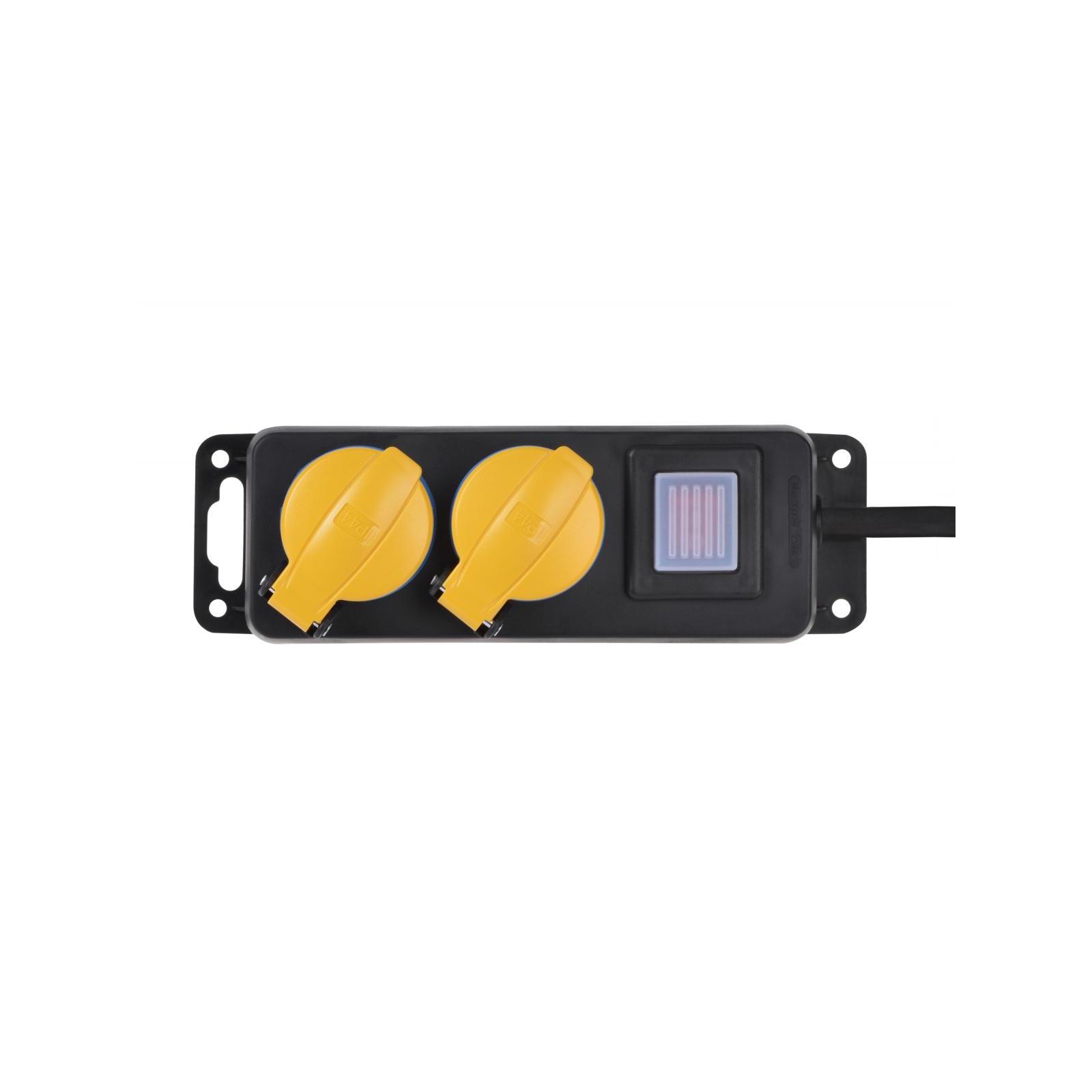 Сетевой фильтр питания 2E 2xSchuko ІР44 (2E-U02ESPM3) изображение 2