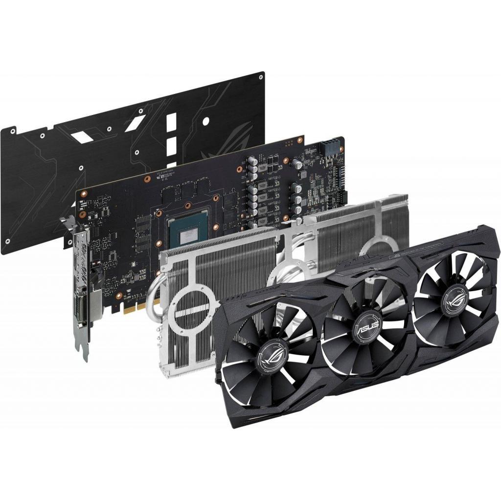 Видеокарта ASUS GeForce GTX1060 6144Mb ROG STRIX Advanced Edition (ROG-STRIX-GTX1060-A6G-GAMING) изображение 7