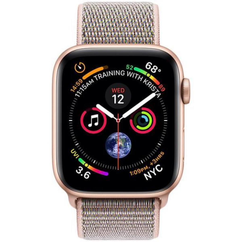 Смарт-часы Apple Watch Series 4 GPS, 44mm Gold Aluminium Case (MU6G2UA/A) изображение 2