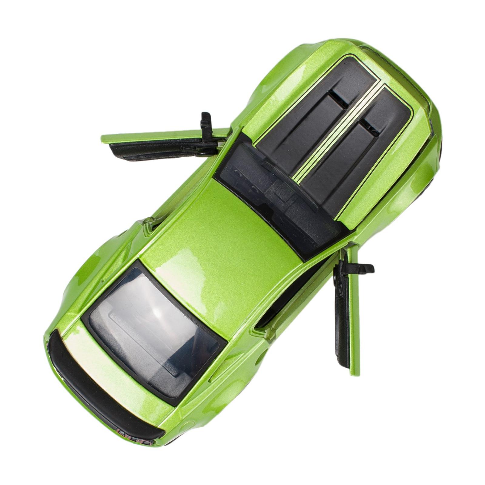 Машина Maisto Ford Mustang Street Racer 2014 (1:24) зеленый металлик (31506 met. green) изображение 4