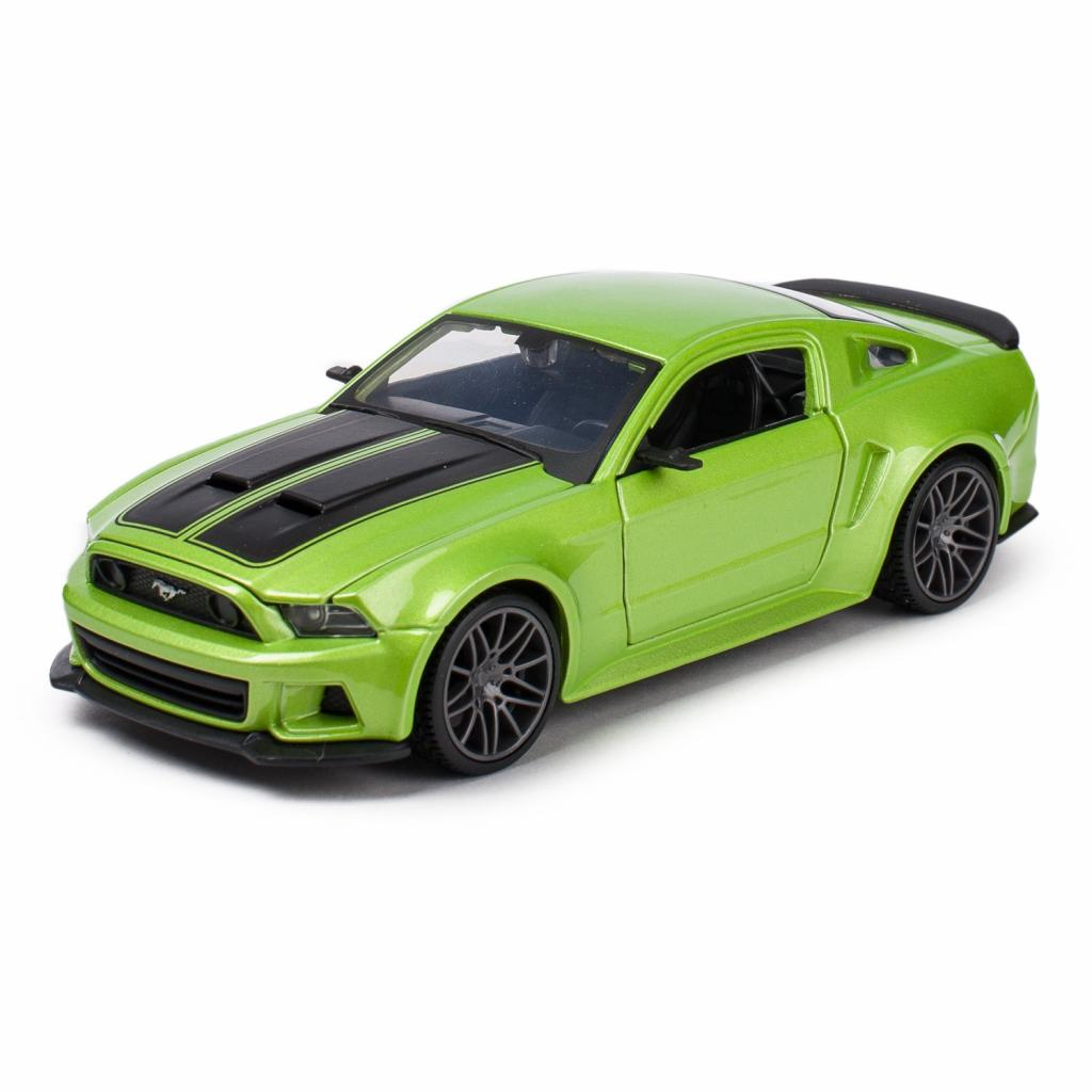 Машина Maisto Ford Mustang Street Racer 2014 (1:24) зеленый металлик (31506 met. green)