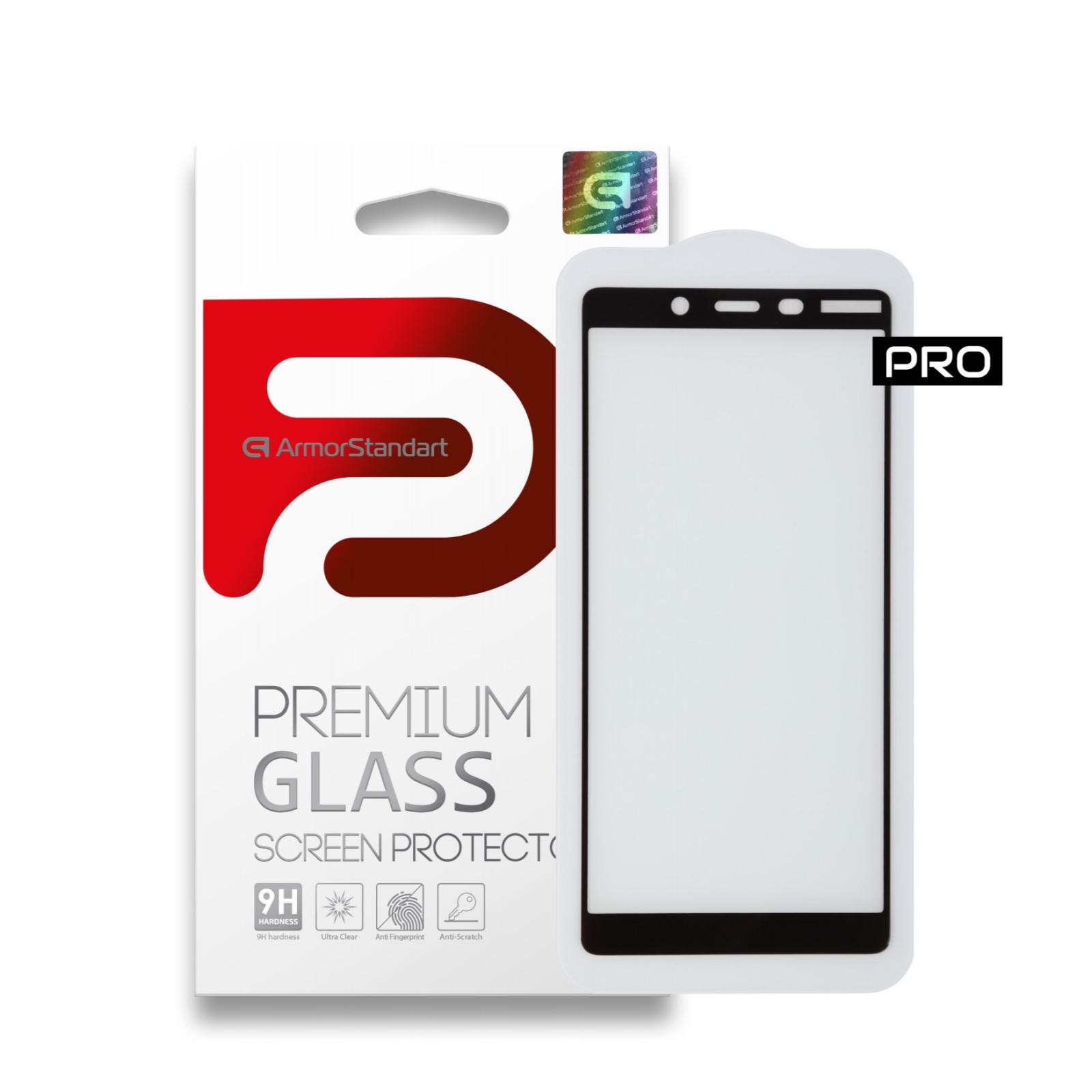 Стекло защитное Armorstandart для Nokia 1 Plus Black (ARM55461-GPR-BK)