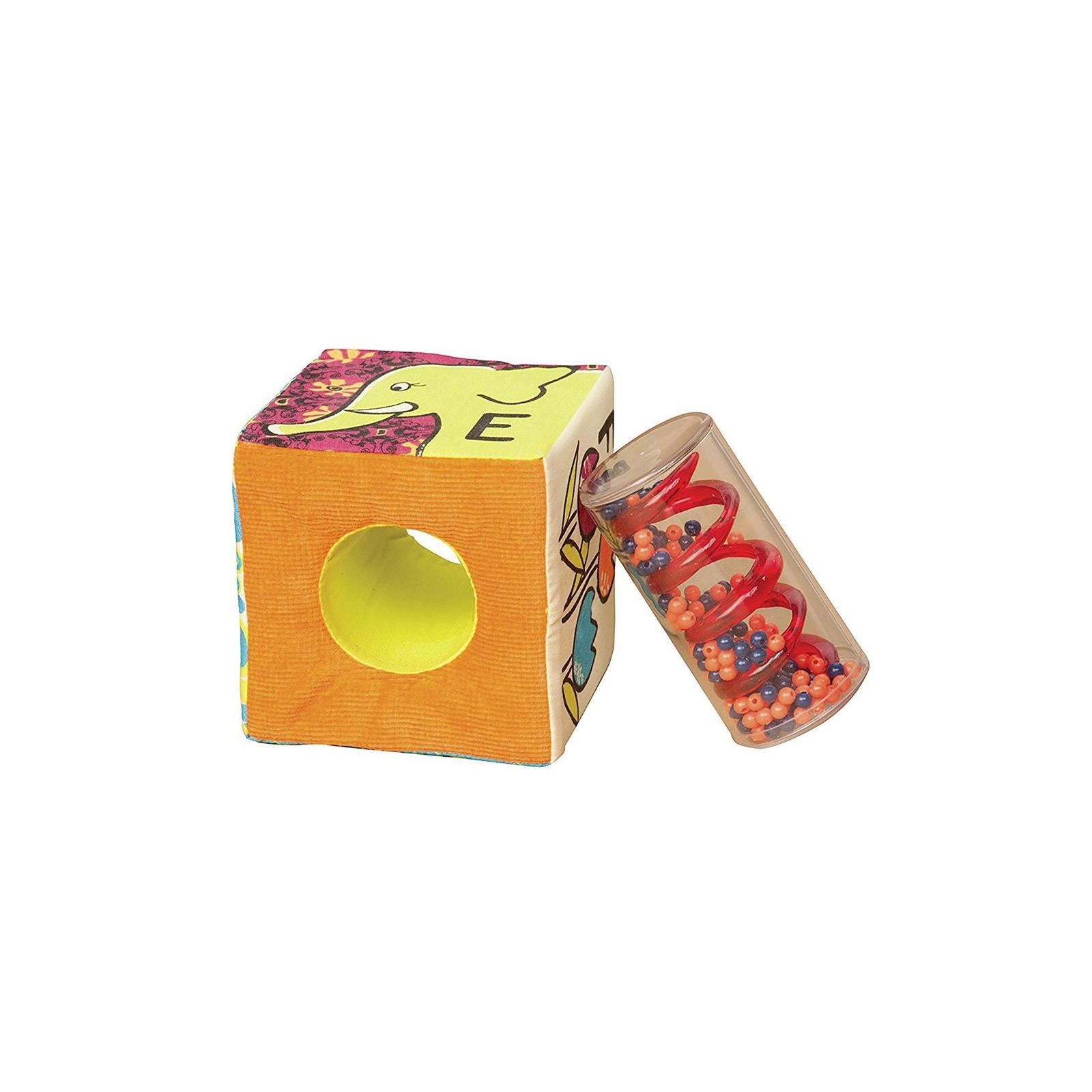 Развивающая игрушка Battat мягкие кубики-сортеры ABC (BX1477Z) изображение 2