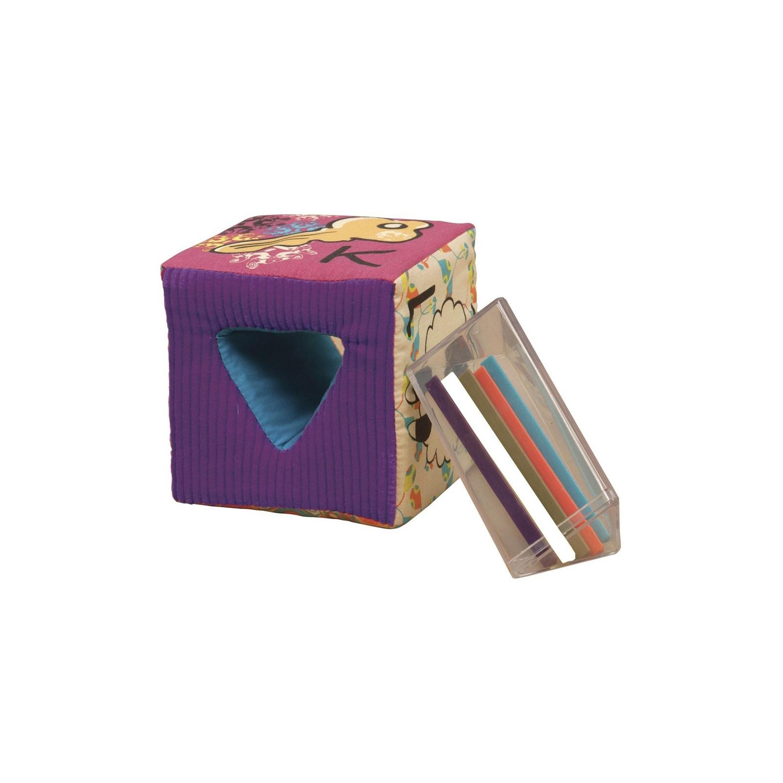 Развивающая игрушка Battat мягкие кубики-сортеры ABC (BX1477Z) изображение 3