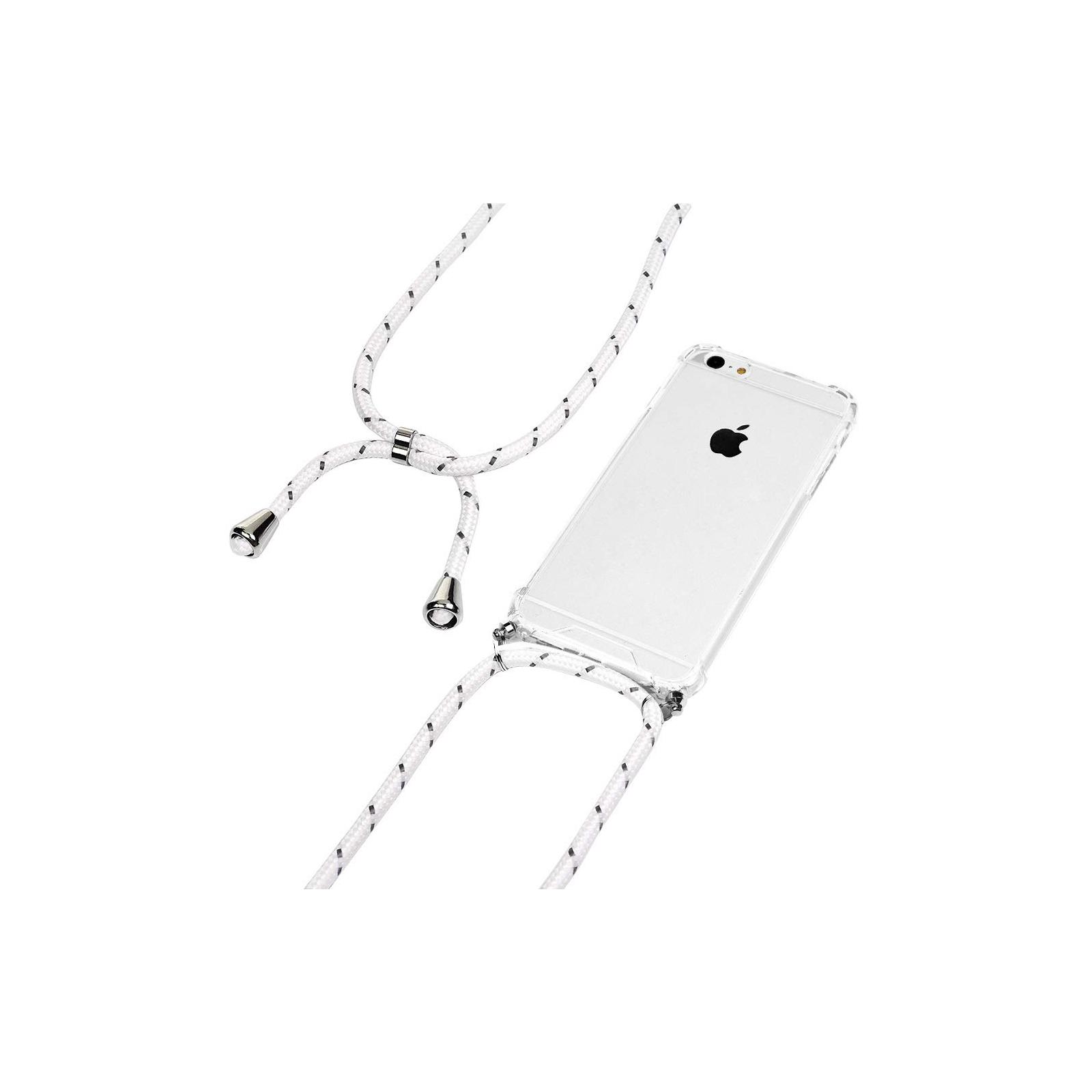 Чехол для моб. телефона BeCover Strap Apple iPhone 11 White (704244) изображение 2