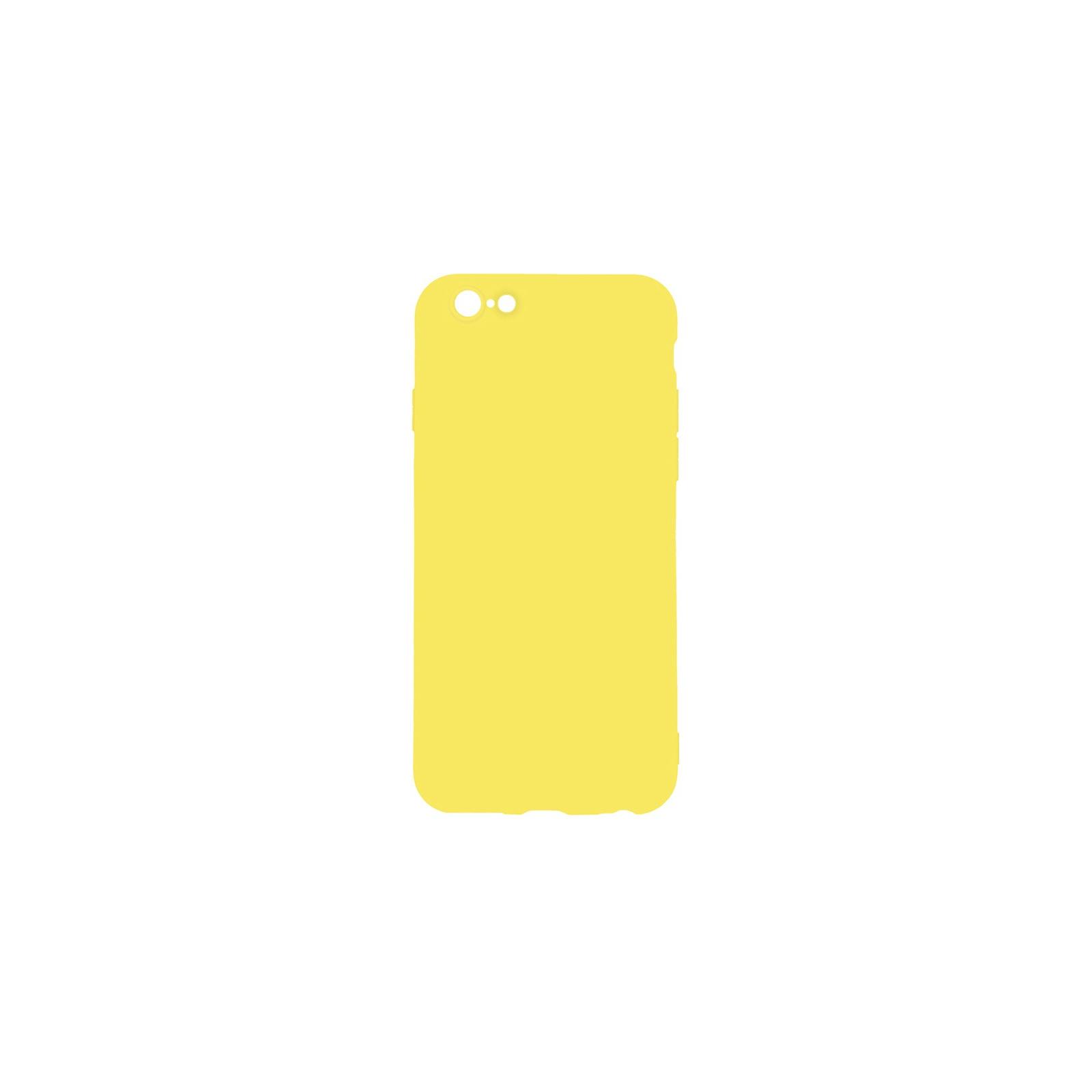 Чехол для моб. телефона Toto 1mm Matt TPU Case Apple iPhone 6 Plus/6s Plus Yellow (F_93836)
