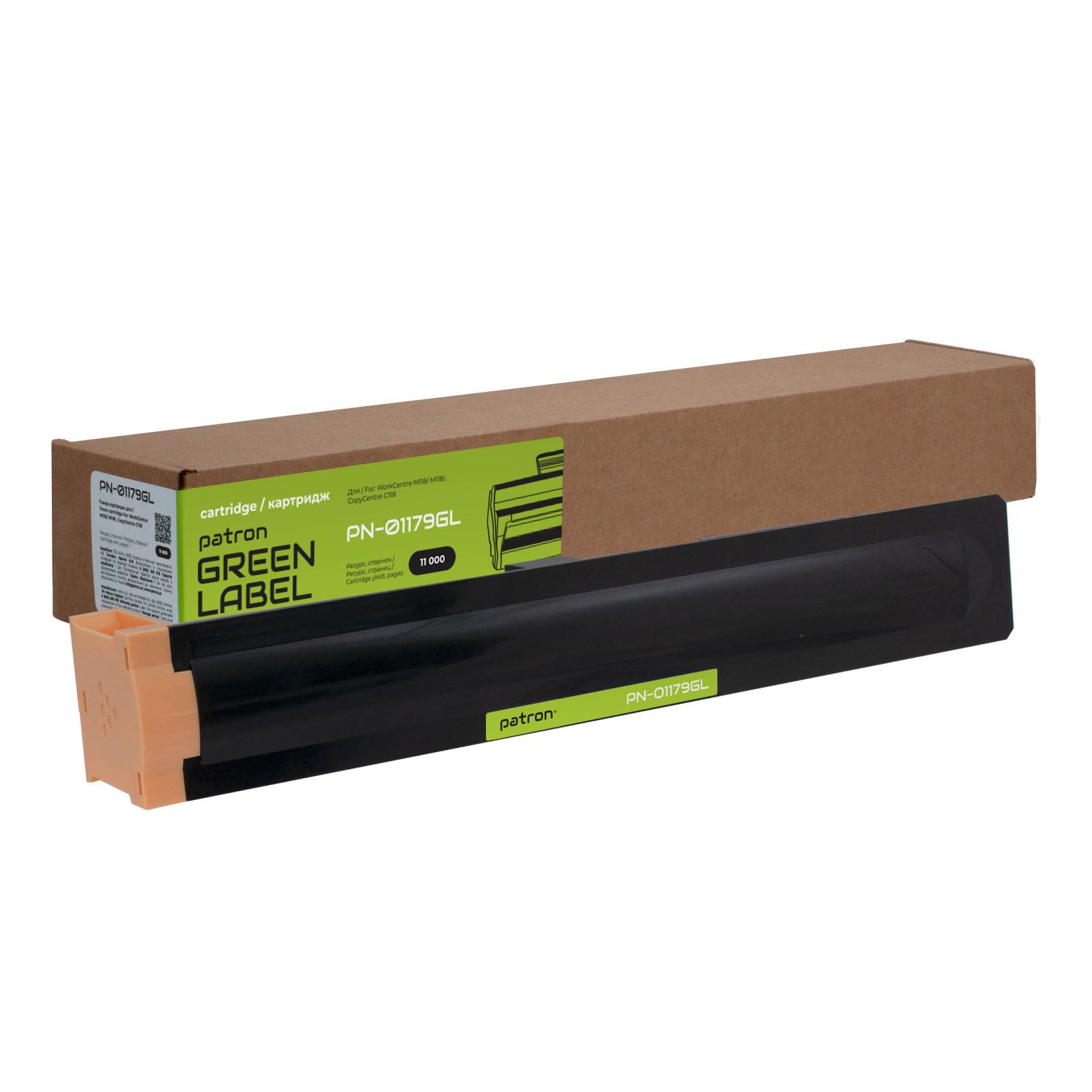Тонер-картридж Patron XEROX WC M118/006R01179 GREEN Label (PN-01179GL)