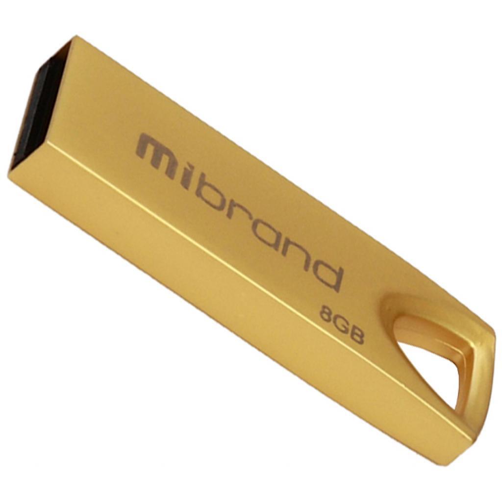 USB флеш накопитель Mibrand 64GB Puma Gold USB 2.0 (MI2.0/PU64U1G)