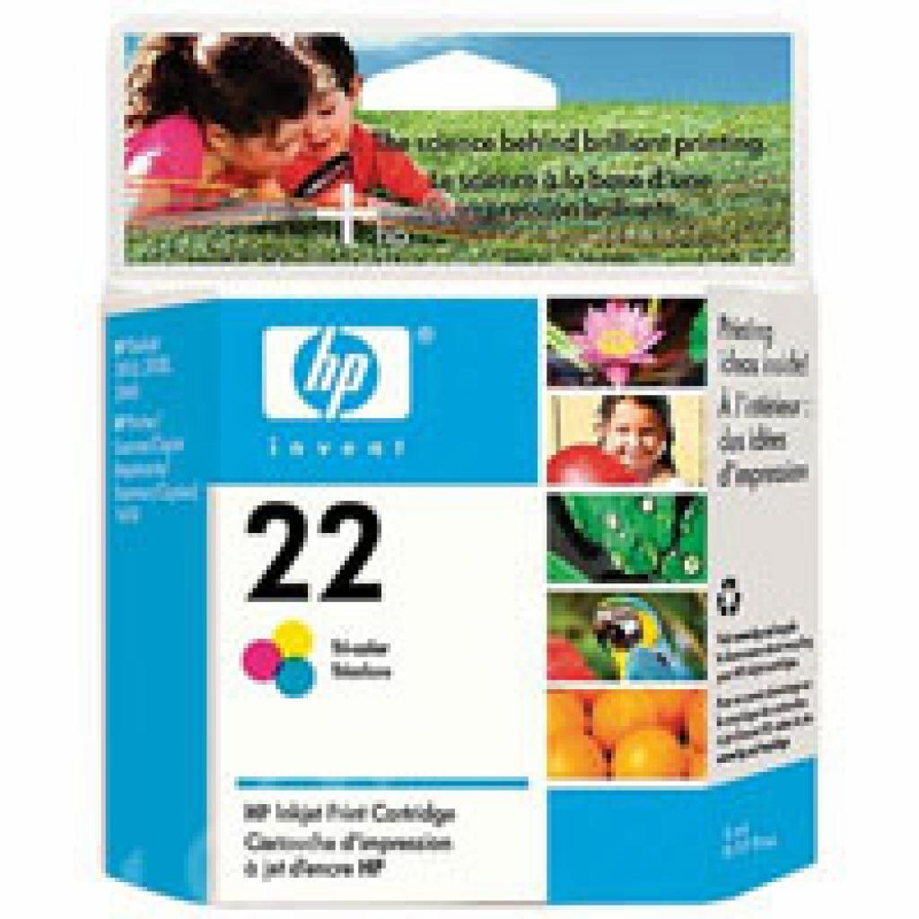 Картридж HP DJ No. 22 Color (C9352AE)