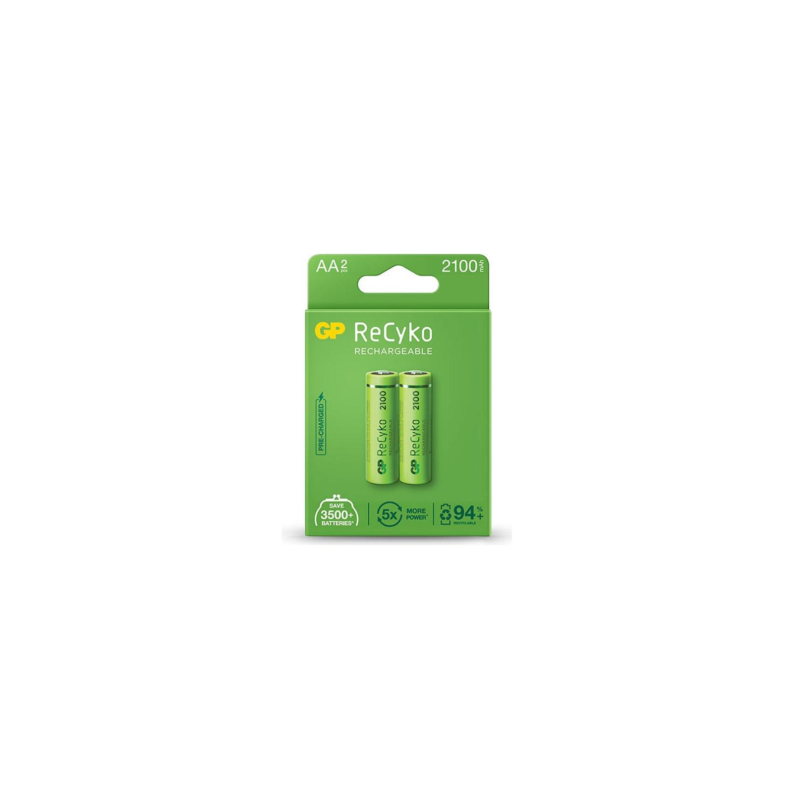 Аккумулятор AA ReCyko+ 2100mAh * 2 Gp (210AAHCE-U2 / 210AAHCB-C2)