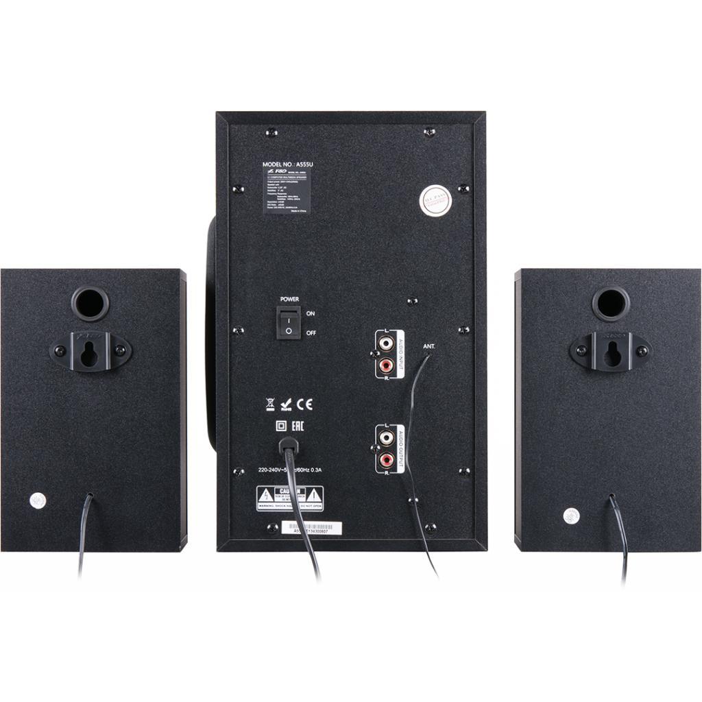 Акустическая система F&D A-555U black изображение 4